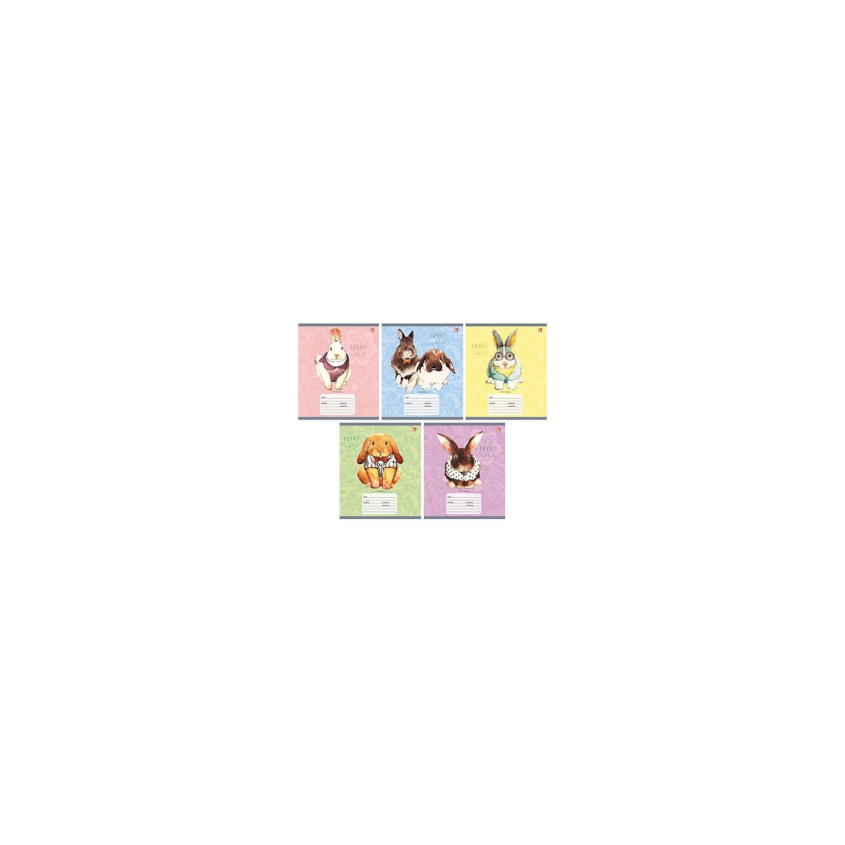 Тетрадь в клетку Модные кролики, 12л, 5 штМодные кролики - замечательный набор тетрадей в клетку. В каждой тетради 12 листов, обложки с разным оформлением с забавными крольчатами. С такими тетрадками ребенок будет ходить в школу с удовольствием!<br><br>Дополнительная информация:<br>Обложка: мелованный картон<br>Количество листов: 12<br>Количество тетрадей: 5<br>Скрепление: скрепка<br>Бумага: офсет, плотностью 60 г/м2<br>Тетради в клетку Модные кролики можно купить в нашем интернет-магазине.<br><br>Ширина мм: 210<br>Глубина мм: 148<br>Высота мм: 3<br>Вес г: 39<br>Возраст от месяцев: 72<br>Возраст до месяцев: 2147483647<br>Пол: Унисекс<br>Возраст: Детский<br>SKU: 4942484