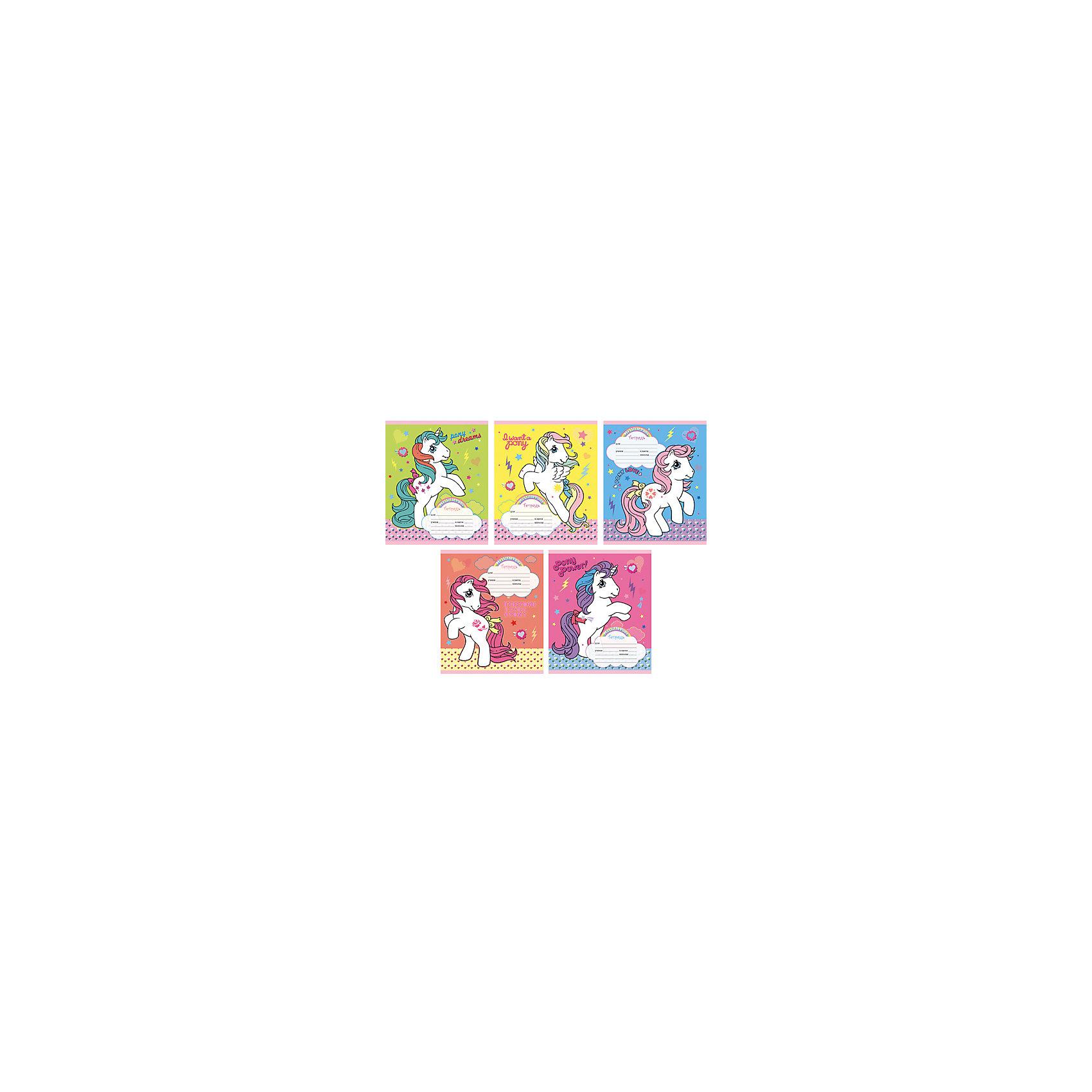 Тетрадь в линейкуMy Little Pony, 18 лС очаровательными тетрадками в линейку My Little Pony учиться будет еще интересней! Яркие привлекательные обложки с тематикой любимого мультсериала несомненно понравится ребенку и помогут ему с легкость открыть дверь в мир знаний!<br><br>Дополнительная информация:<br>Обложка: мелованный картон, выборочный лак, блестки<br>Количество листов: 12<br>Скрепление: скрепка<br>Бумага: офсет, плотностью 60 г/м2<br>Тетради в линейку My Little Pony можно купить в нашем интернет-магазине.<br><br>Ширина мм: 210<br>Глубина мм: 148<br>Высота мм: 4<br>Вес г: 52<br>Возраст от месяцев: 72<br>Возраст до месяцев: 2147483647<br>Пол: Унисекс<br>Возраст: Детский<br>SKU: 4942496