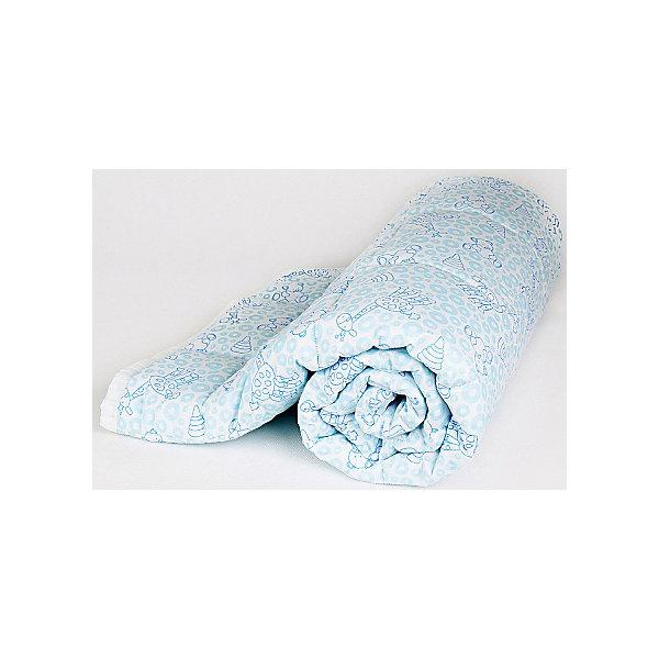 Одеяло стеганное Мишки и жирафы, файбер 200, 105х140, Baby Nice, голубойОдеяла<br>Одеяло стеганное Мишки и жирафы, файбер 200, 105х140, Baby Nice, голубой.<br><br>Характеристики:<br><br>- Размер: 105х140 см.<br>- Материал верха: 100% хлопок<br>- Наполнитель: файбер<br>- Плотность наполнителя: 200 г/м2<br>- Цвет: голубой<br>- Упаковка: пластиковая сумка-чехол<br>- Размер упаковки: 35x13х32 см.<br><br>Стёганое одеяло «Мишки и жирафы» от российского производителя Baby Nice - это прекрасное решение для детской кроватки, ведь оно отлично согреет малыша, подарив ему необыкновенный комфорт и уют. Одеяло изготовлено из высококачественных материалов: верх выполнен из 100%-го хлопка, а наполнитель - из файбера, благодаря чему одеяло невероятно лёгкое и обладает прекрасными дышащими и терморегуляционными свойствами. В нем заводятся пылевые клещи и микроорганизмы. К тому же оно гипоаллергенно, отлично стирается и не слеживается, быстро сохнет и не впитывает неприятные запахи. А принт с забавными жирафами и медвежатами обязательно порадует ребёнка.<br><br>Одеяло стеганное Мишки и жирафы, файбер 200, 105х140, Baby Nice, голубое можно купить в нашем интернет-магазине.<br><br>Ширина мм: 200<br>Глубина мм: 100<br>Высота мм: 100<br>Вес г: 500<br>Возраст от месяцев: 0<br>Возраст до месяцев: 36<br>Пол: Унисекс<br>Возраст: Детский<br>SKU: 4943419