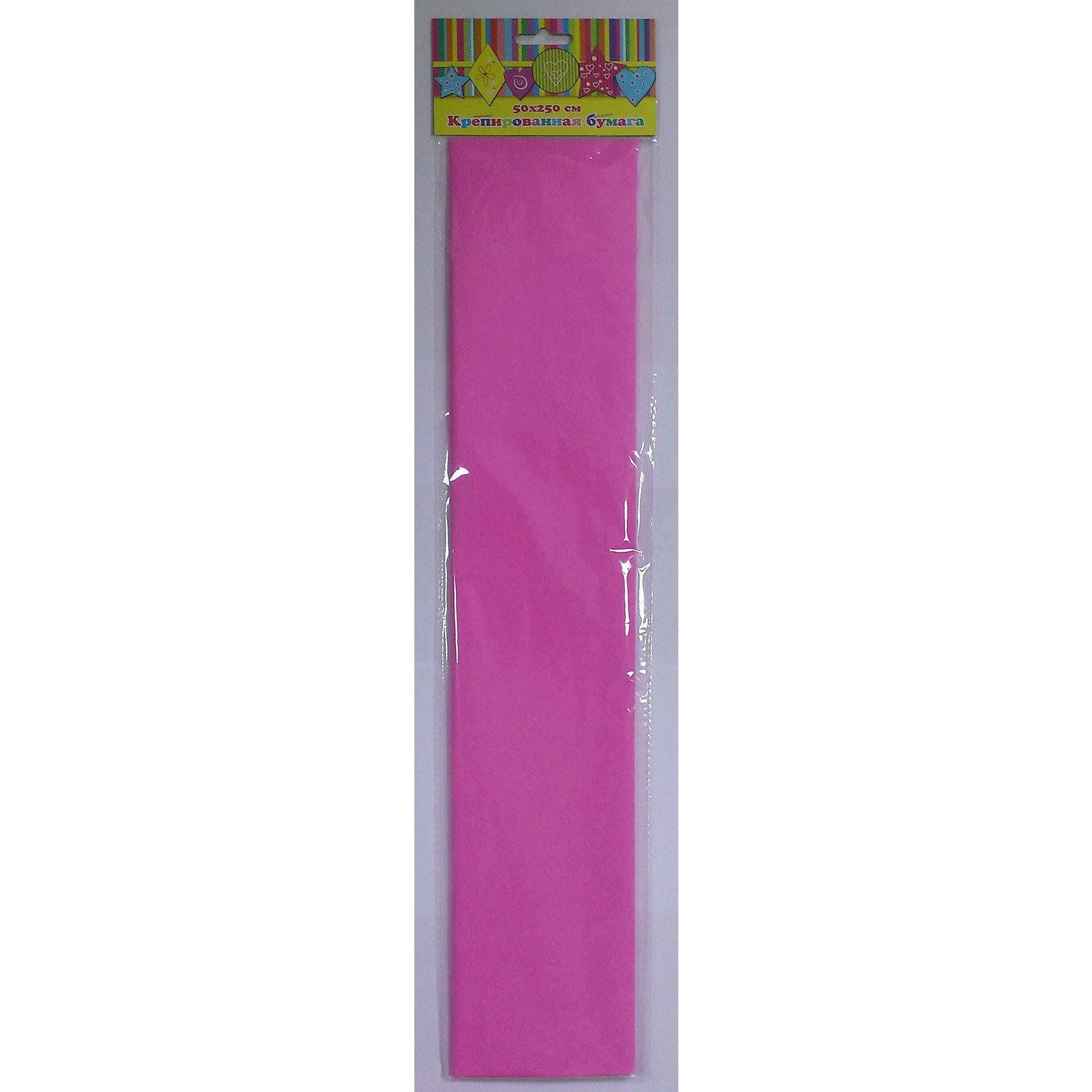 Бумага розовая крепированнаяРукоделие<br>Изумительная крепированная бумага розового цвета, из нее Ваш малыш сможет сделать множество ярких цветов или другие поделки.<br><br>Дополнительная информация:<br><br>- Возраст: от 3 лет.<br>- 1 лист.<br>- Цвет: розовый.<br>- Материал: бумага.<br>- Размеры: 50х250 см.<br>- Размер упаковки: 51х11х0,2 см.<br>- Вес в упаковке: 30 г. <br><br>Купить крепированную бумагу в розовом цвете, можно в нашем магазине.<br><br>Ширина мм: 510<br>Глубина мм: 110<br>Высота мм: 2<br>Вес г: 30<br>Возраст от месяцев: 36<br>Возраст до месяцев: 2147483647<br>Пол: Унисекс<br>Возраст: Детский<br>SKU: 4943425