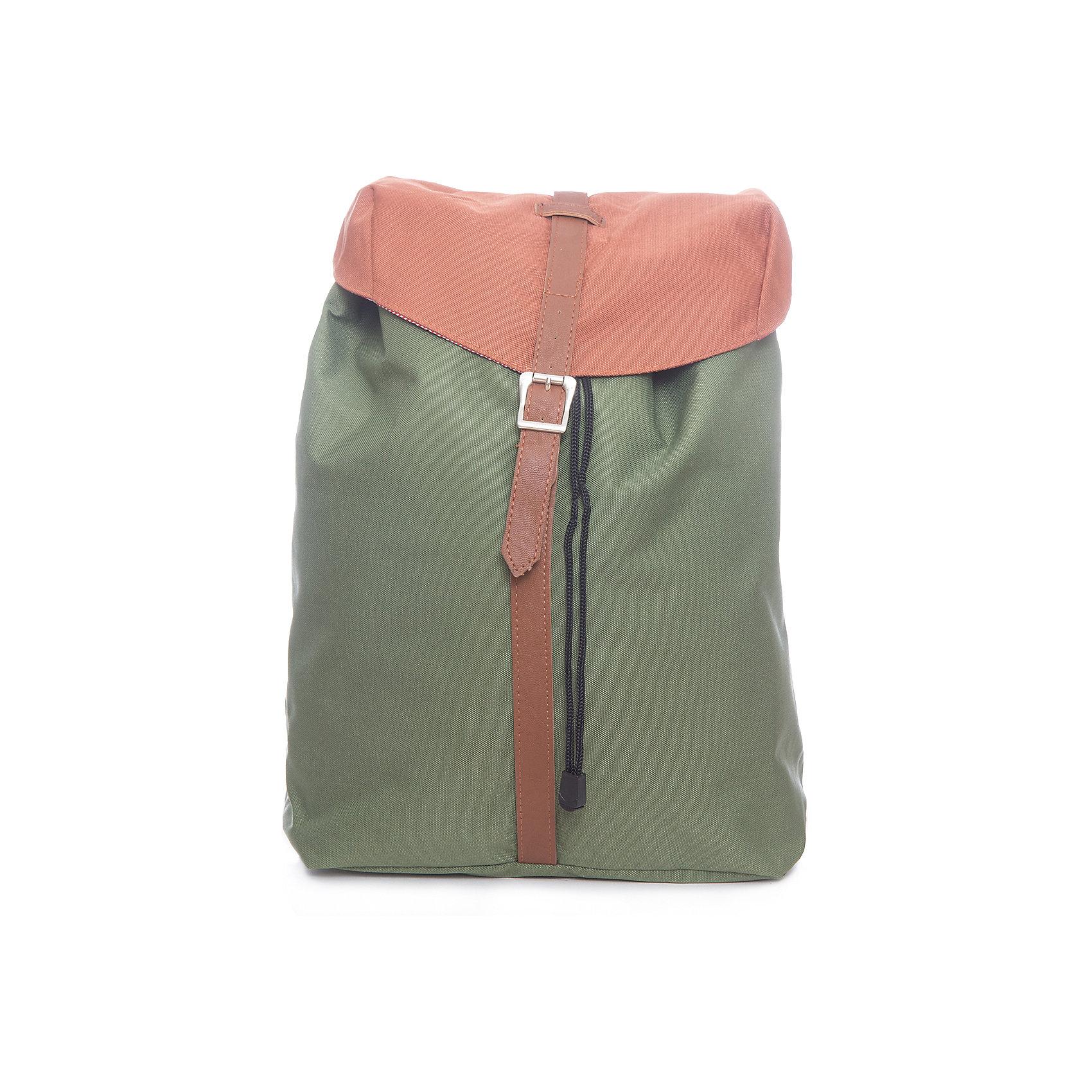 Рюкзак молодежный, зеленый