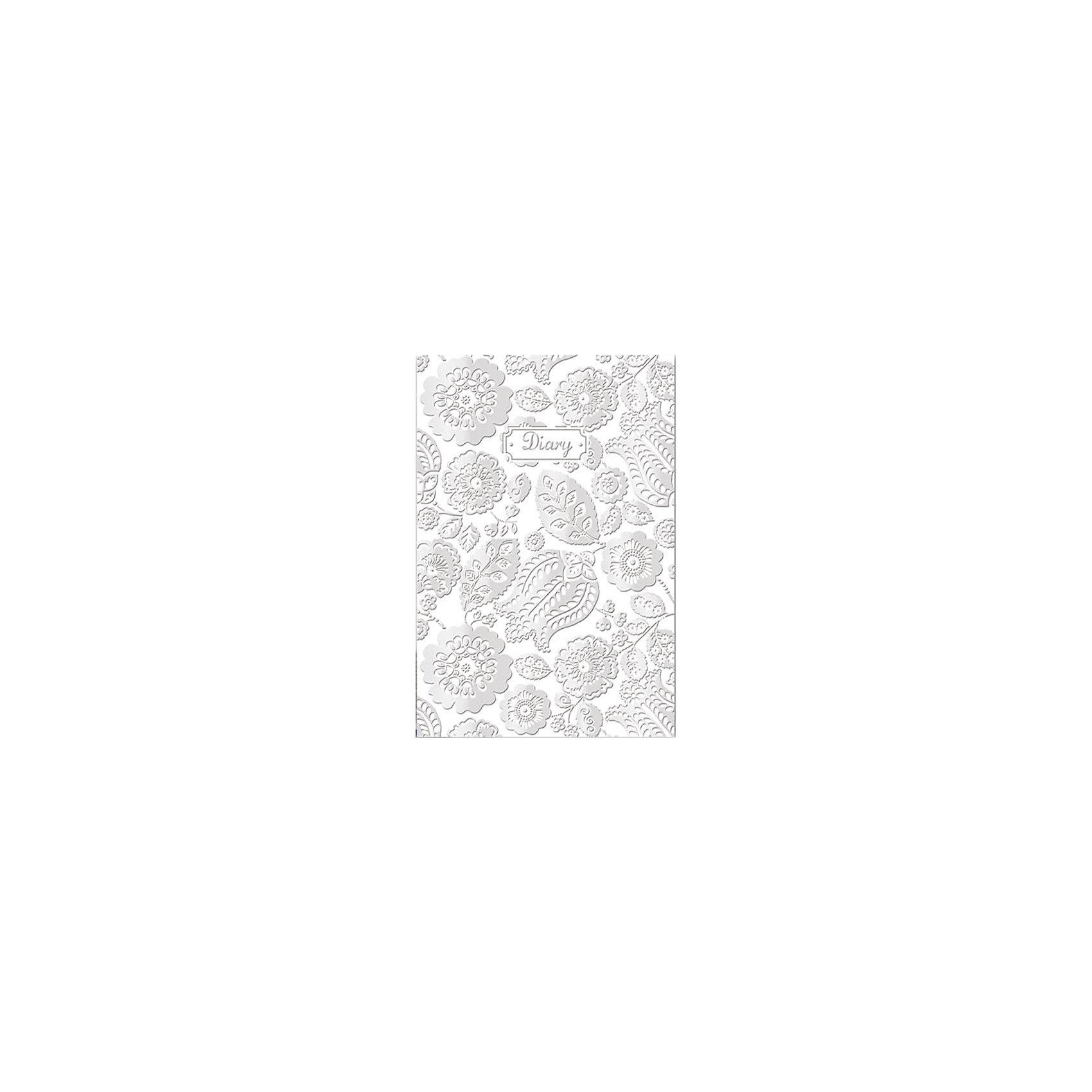 Ежедневник А5 недатированный Серебряные кружеваУниверсальный недатированный ежедневник пригодится как деловому взрослому так и ребенку.<br><br>Дополнительная информация:<br><br>- 200 листов.<br>- Орнамент: серебряные кружева.<br>- Формат: А5.<br>- Линовка: линия.<br>- Крепление: книжное (прошивка).<br>- Обложка: твердая.<br>- Материал: бумага, картон.<br>- Размер упаковки: 22х15х1,5 см.<br>- Вес в упаковке: 439 г.<br><br>Купить ежедневник недатированный Серебряные кружева можно в нашем магазине.<br><br>Ширина мм: 220<br>Глубина мм: 150<br>Высота мм: 15<br>Вес г: 439<br>Возраст от месяцев: 72<br>Возраст до месяцев: 2147483647<br>Пол: Женский<br>Возраст: Детский<br>SKU: 4943466