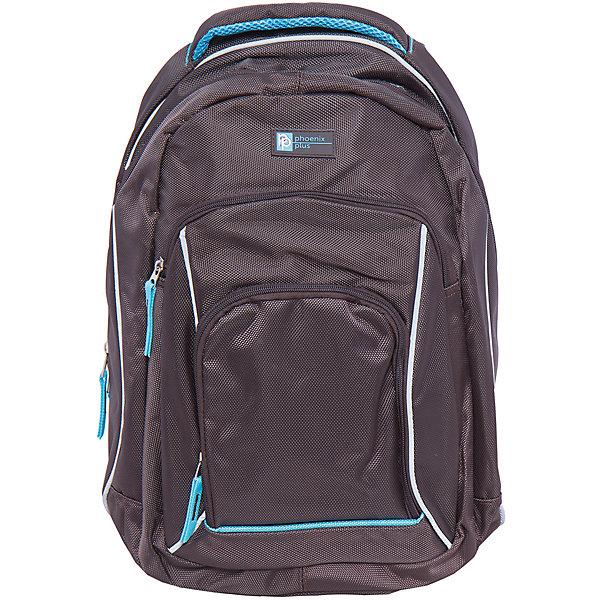 Рюкзак спортивный, коричневыйДорожные сумки и чемоданы<br>Вместительный, удобный спортивный рюкзак для Вашего ребенка. У рюкзака одно большое отделение на молнии и два дополнительных накладных кармана спереди, лямки регулируются.<br><br>Дополнительная информация:<br><br>- Возраст: от 6 лет.<br>- Молнии ранца украшены брелками.<br>- Светоотражающие вставки.<br>- Материал: 100% полиэстер.<br>- Размер упаковки: 42х28х11 см.<br>- Вес в упаковке: 745 г.<br><br>Купить молодежный рюкзак в фиолетовом цвете, можно в нашем магазине.<br>Ширина мм: 450; Глубина мм: 320; Высота мм: 160; Вес г: 745; Возраст от месяцев: 72; Возраст до месяцев: 2147483647; Пол: Унисекс; Возраст: Детский; SKU: 4943476;