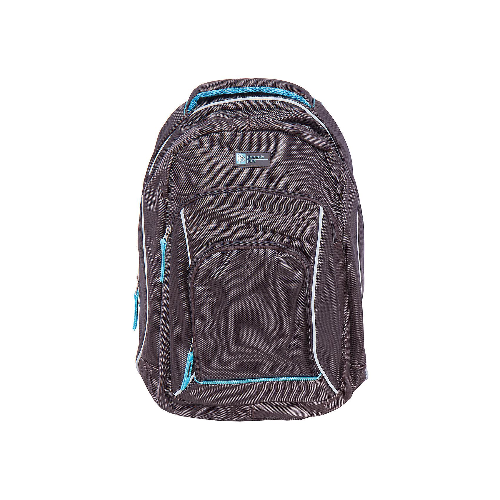 Рюкзак спортивный, коричневыйДорожные сумки и чемоданы<br>Вместительный, удобный спортивный рюкзак для Вашего ребенка. У рюкзака одно большое отделение на молнии и два дополнительных накладных кармана спереди, лямки регулируются.<br><br>Дополнительная информация:<br><br>- Возраст: от 6 лет.<br>- Молнии ранца украшены брелками.<br>- Светоотражающие вставки.<br>- Материал: 100% полиэстер.<br>- Размер упаковки: 42х28х11 см.<br>- Вес в упаковке: 745 г.<br><br>Купить молодежный рюкзак в фиолетовом цвете, можно в нашем магазине.<br><br>Ширина мм: 450<br>Глубина мм: 320<br>Высота мм: 160<br>Вес г: 745<br>Возраст от месяцев: 72<br>Возраст до месяцев: 2147483647<br>Пол: Унисекс<br>Возраст: Детский<br>SKU: 4943476