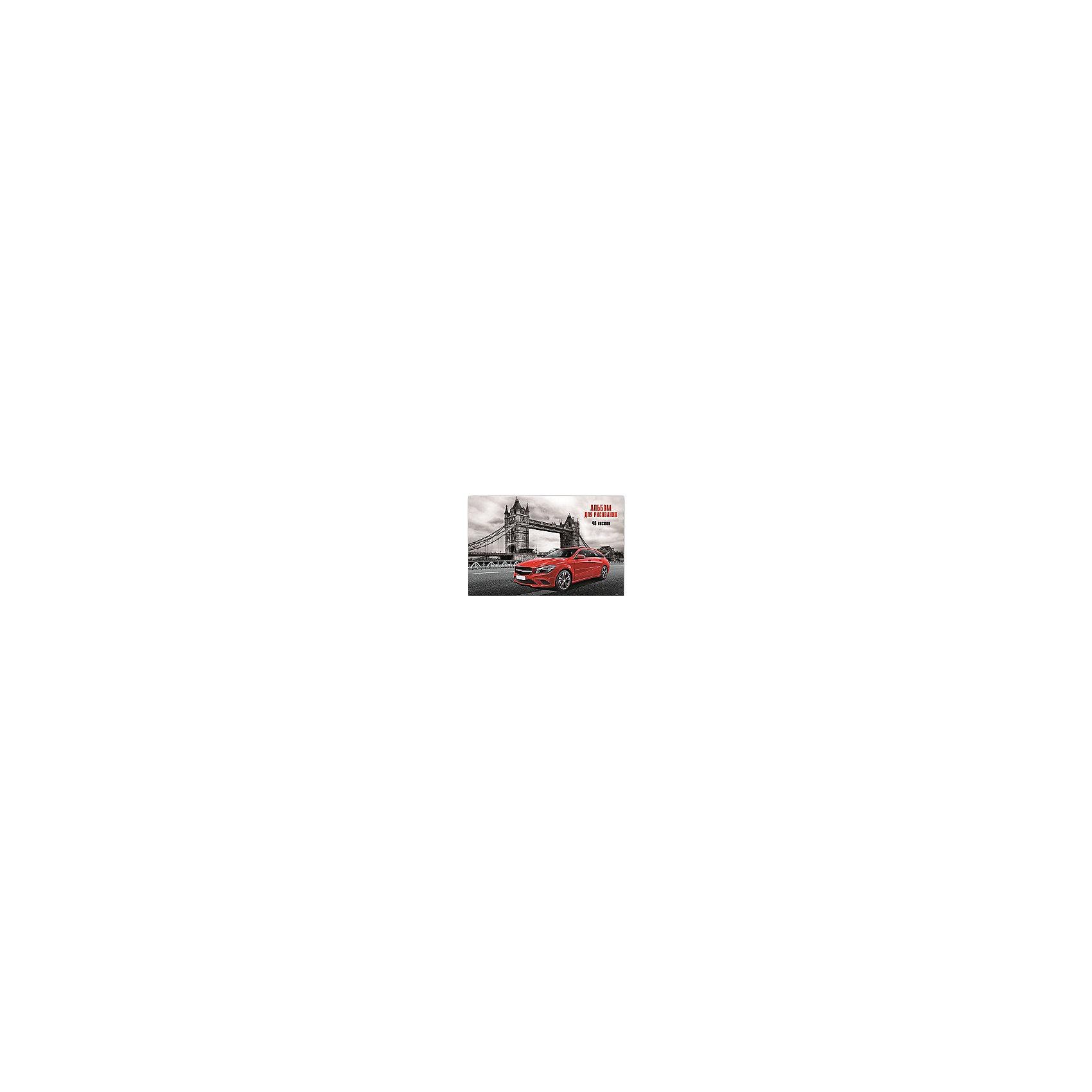 Альбом для рисования Красное авто, 40лСкоро 1 сентября, а значит Вашему ребенку обязательно понадобиться альбом для рисования!<br><br>Дополнительная информация:<br><br>- Возраст: от 3 лет.<br>- 40 листов.<br>- Орнамент: красное авто.<br>- Формат: А4.<br>- Материал: бумага, картон.<br>- Размер упаковки: 28,5х20х0,5 см.<br>- Вес в упаковке: 251 г.<br><br>Купить альбом для рисования Красное авто можно в нашем магазине.<br><br>Ширина мм: 285<br>Глубина мм: 200<br>Высота мм: 5<br>Вес г: 251<br>Возраст от месяцев: 36<br>Возраст до месяцев: 2147483647<br>Пол: Унисекс<br>Возраст: Детский<br>SKU: 4943484