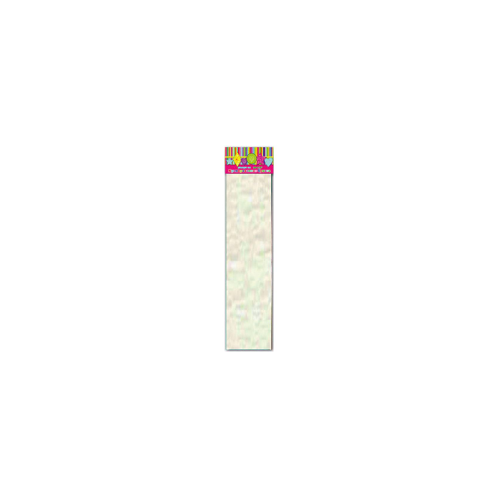 Бумага белая эластичная крепированнаяИзумительная крепированная бумага белого цвета, из нее Ваш малыш сможет сделать множество ярких цветов или другие поделки.<br><br>Дополнительная информация:<br><br>- Возраст: от 3 лет.<br>- 1 лист.<br>- Цвет: белый.<br>- Материал: бумага.<br>- Размеры: 50х250 см.<br>- Размер упаковки: 51х10х0,5 см.<br>- Вес в упаковке: 40 г. <br><br>Купить крепированную эластичную бумагу в белом цвете, можно в нашем магазине.<br><br>Ширина мм: 510<br>Глубина мм: 100<br>Высота мм: 5<br>Вес г: 40<br>Возраст от месяцев: 36<br>Возраст до месяцев: 2147483647<br>Пол: Унисекс<br>Возраст: Детский<br>SKU: 4943488