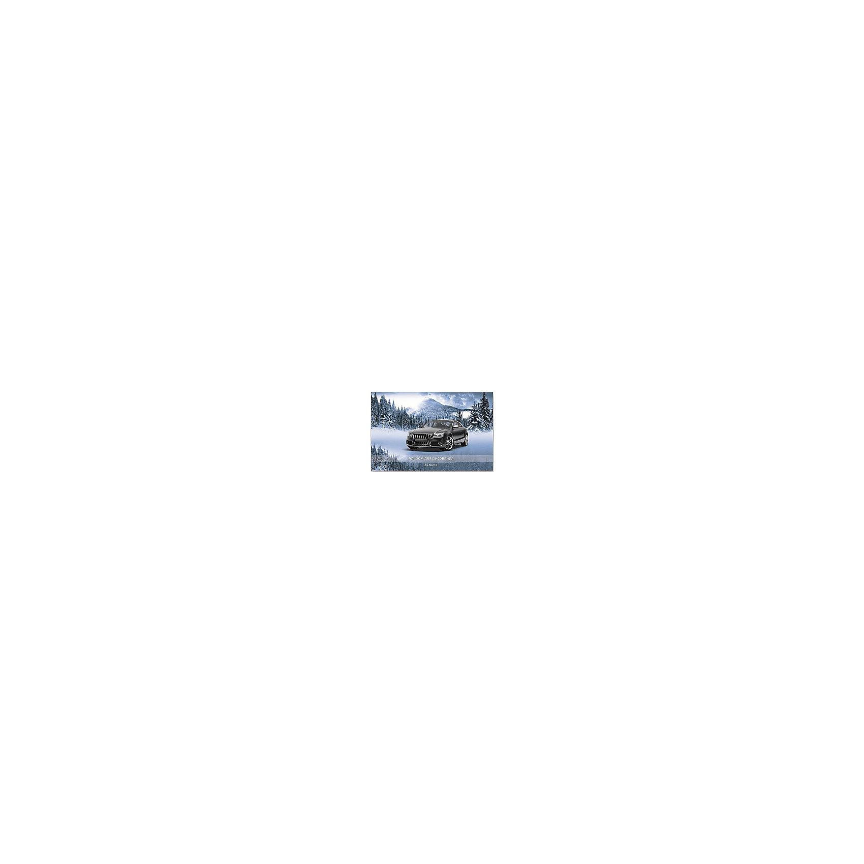 Феникс+ Альбом для рисования Авто и зимний пейзаж, 24л купить авто в украине запчасти шаран
