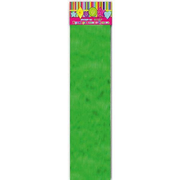 Бумага зеленая эластичная крепированнаяБумага<br>Изумительная крепированная бумага зеленого цвета, из нее Ваш малыш сможет сделать множество ярких цветов или другие поделки.<br><br>Дополнительная информация:<br><br>- Возраст: от 3 лет.<br>- 1 лист.<br>- Цвет: зеленый.<br>- Материал: бумага.<br>- Размеры: 50х250 см.<br>- Размер упаковки: 51х10х0,5 см.<br>- Вес в упаковке: 40 г. <br><br>Купить крепированную эластичную бумагу в зеленом цвете, можно в нашем магазине.<br><br>Ширина мм: 510<br>Глубина мм: 100<br>Высота мм: 5<br>Вес г: 40<br>Возраст от месяцев: 36<br>Возраст до месяцев: 2147483647<br>Пол: Унисекс<br>Возраст: Детский<br>SKU: 4943532