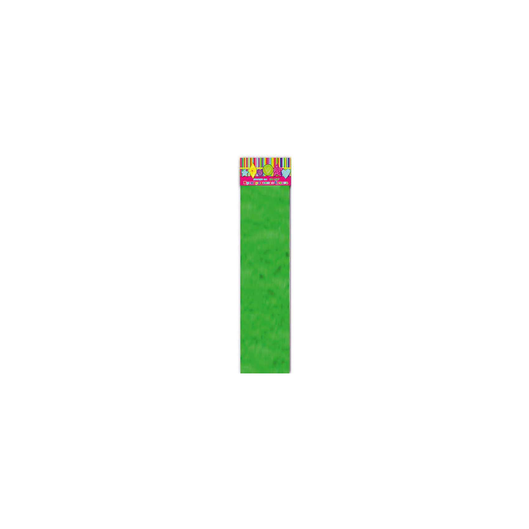 Бумага зеленая эластичная крепированнаяИзумительная крепированная бумага зеленого цвета, из нее Ваш малыш сможет сделать множество ярких цветов или другие поделки.<br><br>Дополнительная информация:<br><br>- Возраст: от 3 лет.<br>- 1 лист.<br>- Цвет: зеленый.<br>- Материал: бумага.<br>- Размеры: 50х250 см.<br>- Размер упаковки: 51х10х0,5 см.<br>- Вес в упаковке: 40 г. <br><br>Купить крепированную эластичную бумагу в зеленом цвете, можно в нашем магазине.<br><br>Ширина мм: 510<br>Глубина мм: 100<br>Высота мм: 5<br>Вес г: 40<br>Возраст от месяцев: 36<br>Возраст до месяцев: 2147483647<br>Пол: Унисекс<br>Возраст: Детский<br>SKU: 4943532