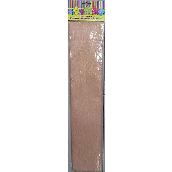 Бумага оранжевая перламутровая крепированнаяБумага<br>Изумительная крепированная бумага оранжевого с перламутровым цвета, из нее Ваш малыш сможет сделать множество ярких цветов или другие поделки.<br><br>Дополнительная информация:<br><br>- Возраст: от 3 лет.<br>- 1 лист.<br>- Цвет: оранжевый с перламутром.<br>- Материал: бумага.<br>- Размеры: 50х250 см.<br>- Размер упаковки: 51х11х0,2 см.<br>- Вес в упаковке: 35 г. <br><br>Купить крепированную бумагу в оранжевом с перламутровым цвете, можно в нашем магазине.<br>Ширина мм: 520; Глубина мм: 110; Высота мм: 6; Вес г: 32; Возраст от месяцев: 36; Возраст до месяцев: 2147483647; Пол: Унисекс; Возраст: Детский; SKU: 4943536;