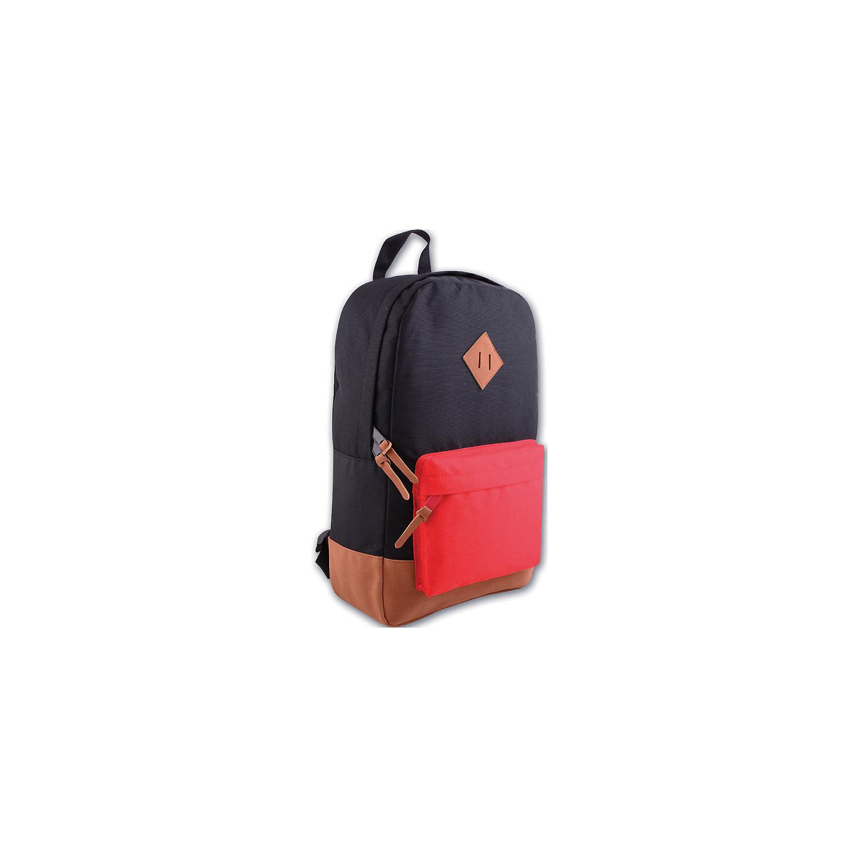 Рюкзак молодежный, черный с краснымСтильный, удобный, а главное вместительный рюкзак для Вашего ребенка. У рюкзака одно большое отделение на молнии и один дополнительный накладной карман спереди, лямки регулируются.<br><br>Дополнительная информация:<br><br>- Возраст: от 6 лет.<br>- Молнии ранца украшены брелками.<br>- Цвет: черный с красным.<br>- Материал: 100% полиэстер.<br>- Размер: 40х28х11 см.<br>- Размер упаковки: 42х28х11 см.<br>- Вес в упаковке: 325 г.<br><br>Купить молодежный рюкзак в черном с красным цвете, можно в нашем магазине.<br><br>Ширина мм: 420<br>Глубина мм: 280<br>Высота мм: 110<br>Вес г: 325<br>Возраст от месяцев: 72<br>Возраст до месяцев: 2147483647<br>Пол: Унисекс<br>Возраст: Детский<br>SKU: 4943540