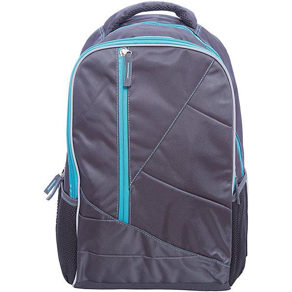 Рюкзак спортивный, серыйДорожные сумки и чемоданы<br>Вместительный, удобный рюкзак для Вашего ребенка. У рюкзака одно большое отделение на молнии и три дополнительный кармана спереди, лямки регулируются.<br><br>Дополнительная информация:<br><br>- Возраст: от 6 лет.<br>- Молнии ранца украшены брелками.<br>- Цвет: серый.<br>- Есть светоотражающие элементы.<br>- Материал: 100% полиэстер.<br>- Размер упаковки: 46х31х17 см.<br>- Вес в упаковке: 675 г.<br><br>Купить спортивный рюкзак серого цвета, можно в нашем магазине.<br>Ширина мм: 460; Глубина мм: 310; Высота мм: 170; Вес г: 675; Возраст от месяцев: 72; Возраст до месяцев: 2147483647; Пол: Унисекс; Возраст: Детский; SKU: 4943542;