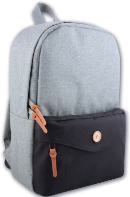 Рюкзак молодежный, серый, артикул:4943606 - В дороге
