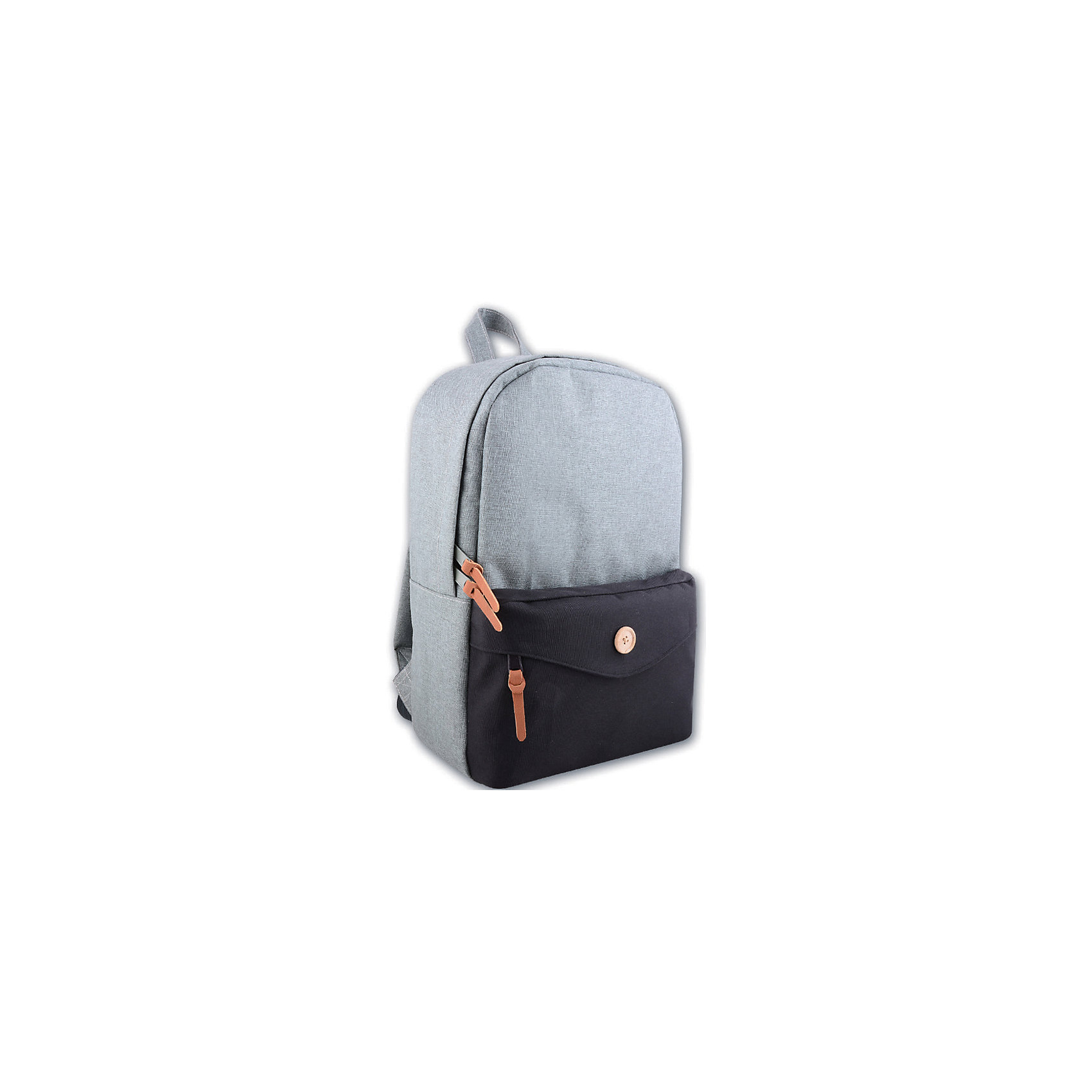 Рюкзак молодежный, серый