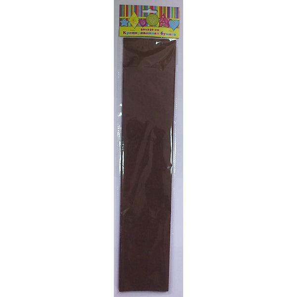 Бумага коричневая крепированнаяБумага<br>Изумительная крепированная бумага коричневого цвета, из нее Ваш малыш сможет сделать множество ярких цветов или другие поделки.<br><br>Дополнительная информация:<br><br>- Возраст: от 3 лет.<br>- 1 лист.<br>- Цвет: коричневый.<br>- Материал: бумага.<br>- Размеры: 50х250 см.<br>- Размер упаковки: 51х11х0,2 см.<br>- Вес в упаковке: 30 г. <br><br>Купить крепированную бумагу в коричневом цвете, можно в нашем магазине.<br>Ширина мм: 510; Глубина мм: 110; Высота мм: 2; Вес г: 30; Возраст от месяцев: 36; Возраст до месяцев: 2147483647; Пол: Унисекс; Возраст: Детский; SKU: 4943642;