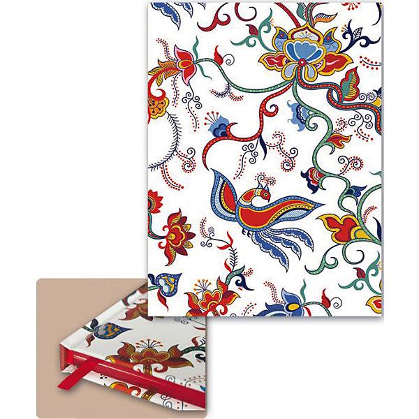 Купить Ежедневник А5 недатированный Узоры на белом , Феникс+, Китай, Унисекс