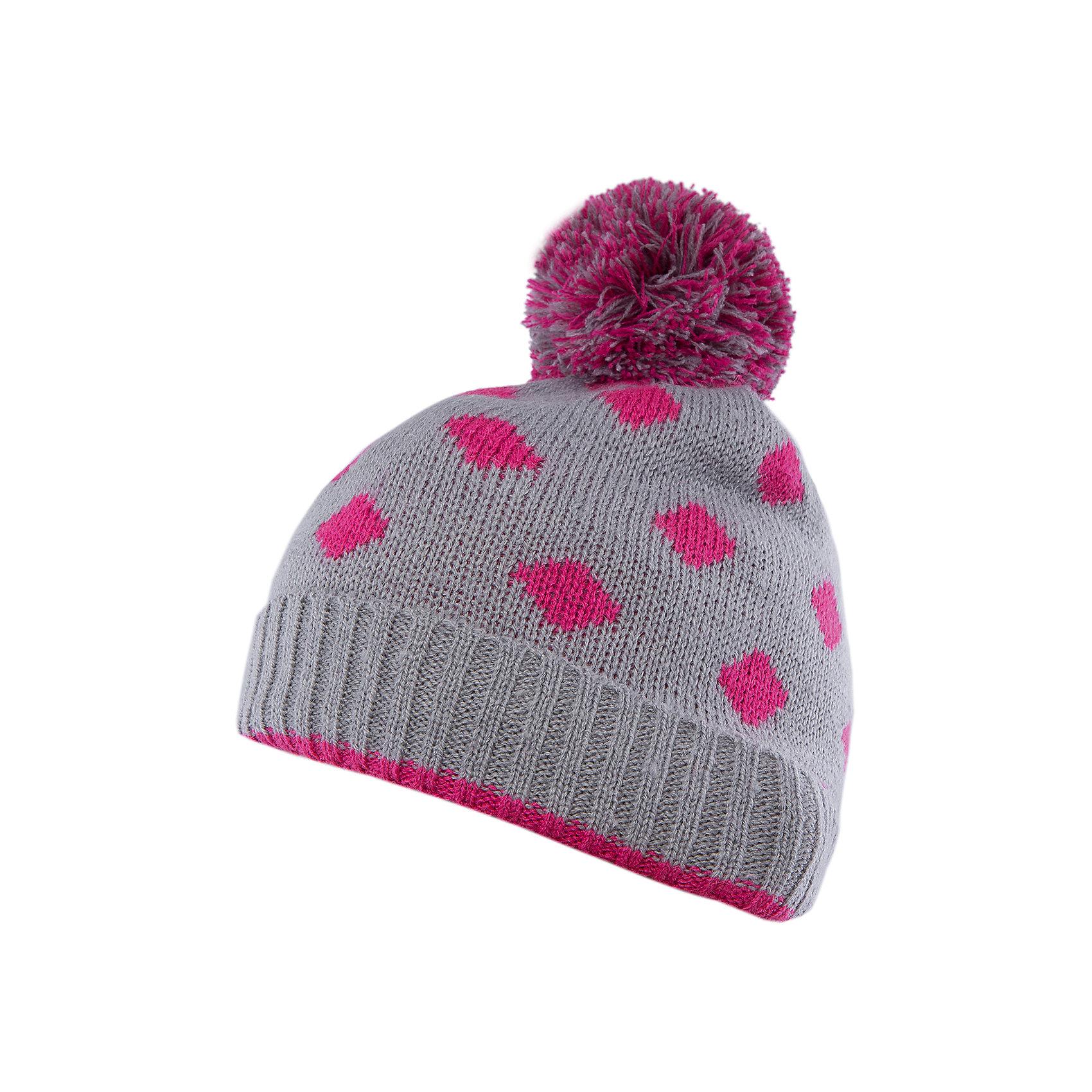 Шапка для девочки SELAГоловные уборы<br>Симпатичная удобная шапка - незаменимая вещь в прохладное время года. Эта модель отлично сидит на ребенке, она сделана из плотного материала, позволяет гулять с комфортом на свежем воздухе зимой. Мягкая резинка по инзу изделия обеспечивает ребенку комфорт. Модель будет уместна в различных сочетаниях.<br>Одежда от бренда Sela (Села) - это качество по приемлемым ценам. Многие российские родители уже оценили преимущества продукции этой компании и всё чаще приобретают одежду и аксессуары Sela.<br><br>Дополнительная информация:<br><br>цвет: серый;<br>материал: 85% акрил, 15% шерсть;<br>вязаный узор.<br><br>Шапку для девочки от бренда Sela можно купить в нашем интернет-магазине.<br><br>Ширина мм: 89<br>Глубина мм: 117<br>Высота мм: 44<br>Вес г: 155<br>Цвет: серый<br>Возраст от месяцев: 48<br>Возраст до месяцев: 84<br>Пол: Женский<br>Возраст: Детский<br>Размер: 52-54<br>SKU: 4943985
