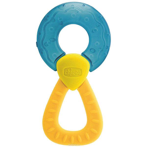 Прорезыватель-игрушка Fresh Relax Кольцо 4мес.+, CHICCO, голубойПустышки<br>Прорезыватель с охлаждающим эффектом - просто необходим каждому малышу! Он разработан специально для стимулирования десен и устранения болезненных ощущений во время прорезывания самых первых зубок. В голубом кольце находится вода, она остается холодным в течении долгого времени и способствует устранению болевых ощущений.<br><br>Дополнительная информация:<br><br>- Возраст: с 4 месяцев.<br>- Цвет: голубой.<br>- Материал: пластик, вода<br>- Размер: 12,5х6,5х2 см.<br><br>Купить прорезыватель-игрушку Fresh Relax Кольцо в голубом цвете, можно в нашем магазине.<br>Ширина мм: 145; Глубина мм: 118; Высота мм: 25; Вес г: 51; Возраст от месяцев: 4; Возраст до месяцев: 18; Пол: Унисекс; Возраст: Детский; SKU: 4944273;