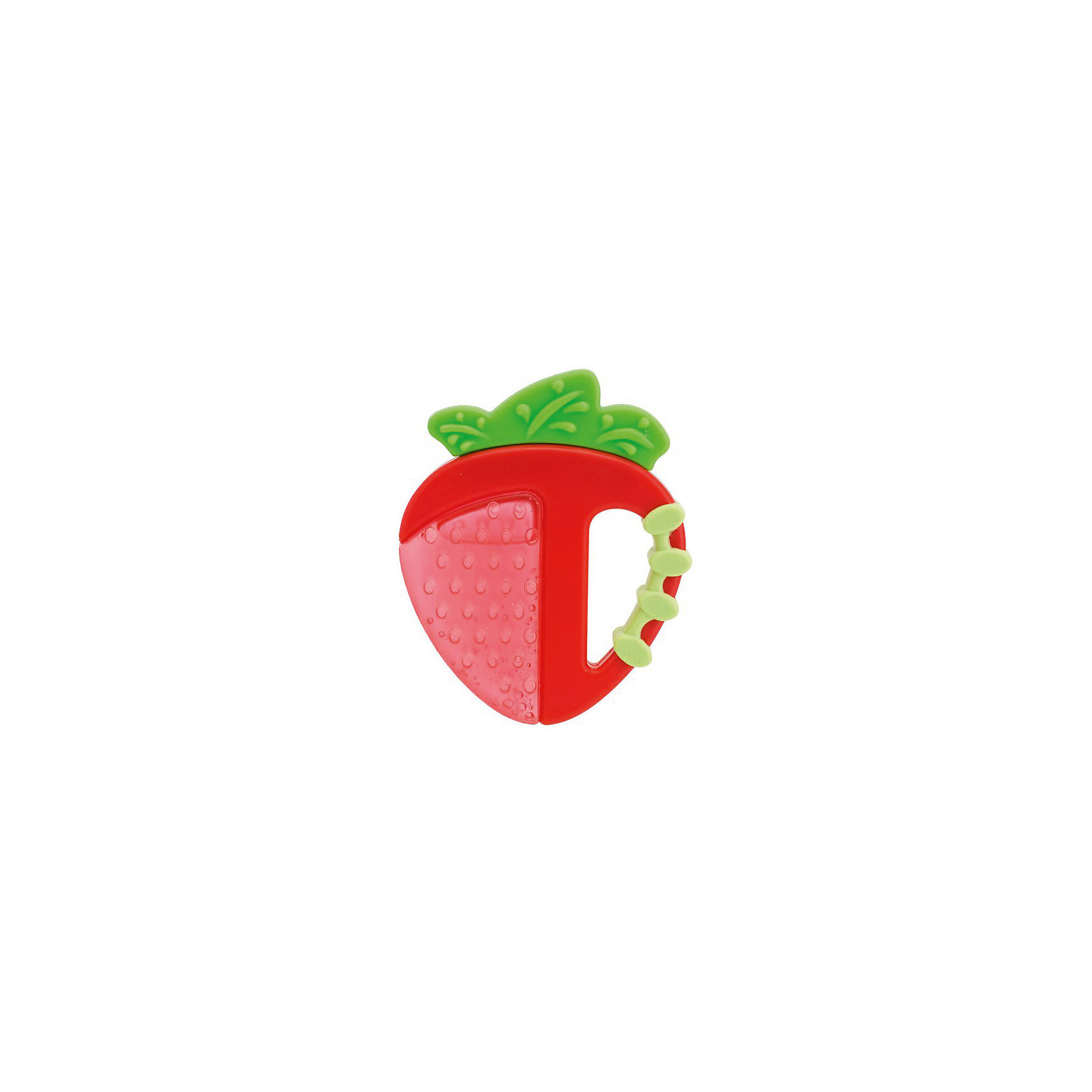Прорезыватель-игрушка Fresh Relax Фрукты 4мес.+,CHICCO, КлубничкаПрорезыватели<br>Прорезыватель-игрушка Fresh Relax Фрукты,Клубничка,4мес.+  <br><br>Прорезыватель с охлаждающим эффектом - просто необходим каждому малышу! Он разработан специально для стимулирования десен и устранения болезненных ощущений во время прорезывания самых первых зубок. В клубничке находится вода, она остается холодным в течении долгого времени и способствует устранению болевых ощущений.<br><br>Дополнительная информация:<br><br>- Возраст: с 4 месяцев.<br>- Цвет: красный.<br>- Форма клубнички.<br>- Материал: силикон, пластик вода.<br>- Размер: 21x11x2 см.<br><br>Купить прорезыватель-игрушку Fresh Relax Фрукты, можно в нашем магазине.<br><br>Ширина мм: 145<br>Глубина мм: 119<br>Высота мм: 20<br>Вес г: 41<br>Возраст от месяцев: 4<br>Возраст до месяцев: 18<br>Пол: Унисекс<br>Возраст: Детский<br>SKU: 4944274