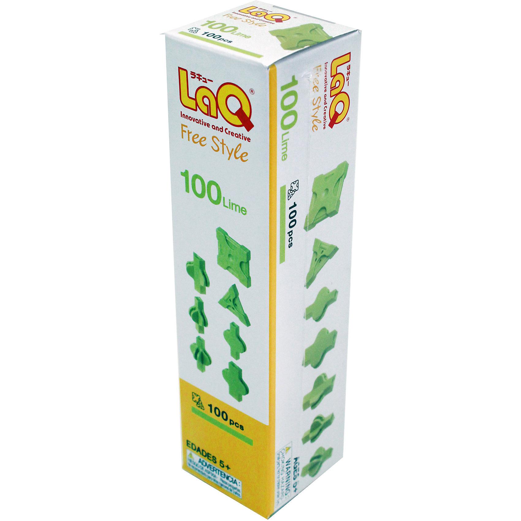 Конструктор 100 Lime, 100 деталей, LaQКонструктор 100 Lime содержит сто деталей необычной формы, имеющие необычные крепления, которые позволят собирать детали как прямо, так и с наклоном. Конструктор зеленого цвета можно использовать отдельно или как дополнение к другим конструкторам LaQ. Игры с конструктором отлично развивают воображение, мелкую моторику и усидчивость. С таким замечательным конструктором ребенок проведет время с удовольствием!<br><br>Дополнительная информация:<br>Материал: пластик<br>В наборе: 100 деталей зеленого цвета<br>Размер: 16х40х40 см<br>Конструктор 100 Lime вы можете купить в нашем интернет-магазине.<br><br>Ширина мм: 162<br>Глубина мм: 40<br>Высота мм: 40<br>Вес г: 61<br>Возраст от месяцев: 60<br>Возраст до месяцев: 1188<br>Пол: Унисекс<br>Возраст: Детский<br>SKU: 4944572