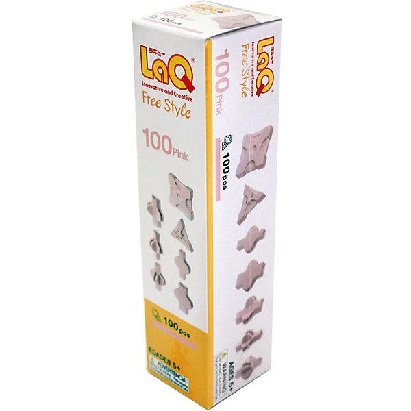 Конструктор 100 Pink, 100 деталей, LaQПластмассовые конструкторы<br>Конструктор 100 Pink содержит сто деталей необычной формы, имеющие необычные крепления, которые позволят собирать детали как прямо, так и с наклоном. Конструктор розового цвета можно использовать отдельно или как дополнение к другим конструкторам LaQ. Игры с конструктором отлично развивают воображение, мелкую моторику и усидчивость. С таким замечательным конструктором ребенок проведет время с удовольствием!<br><br>Дополнительная информация:<br>Материал: пластик<br>В наборе: 100 деталей розового цвета<br>Размер: 16х40х40 см<br>Конструктор 100 Pink вы можете купить в нашем интернет-магазине.<br><br>Ширина мм: 162<br>Глубина мм: 40<br>Высота мм: 40<br>Вес г: 61<br>Возраст от месяцев: 60<br>Возраст до месяцев: 1188<br>Пол: Унисекс<br>Возраст: Детский<br>SKU: 4944573
