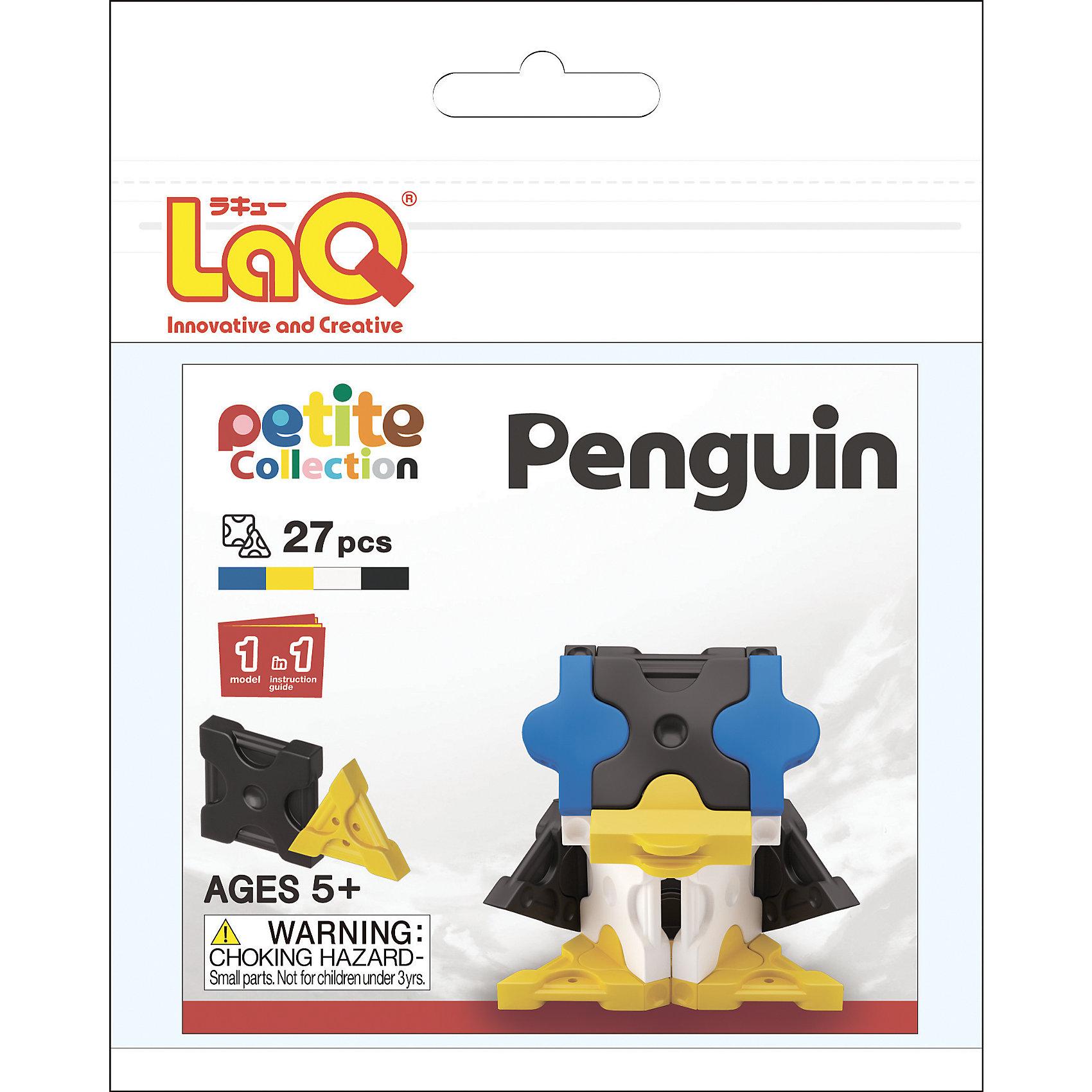 LaQ Конструктор Penguin, 27 деталей, LaQ конструктор laq 1818 mini pteranodon