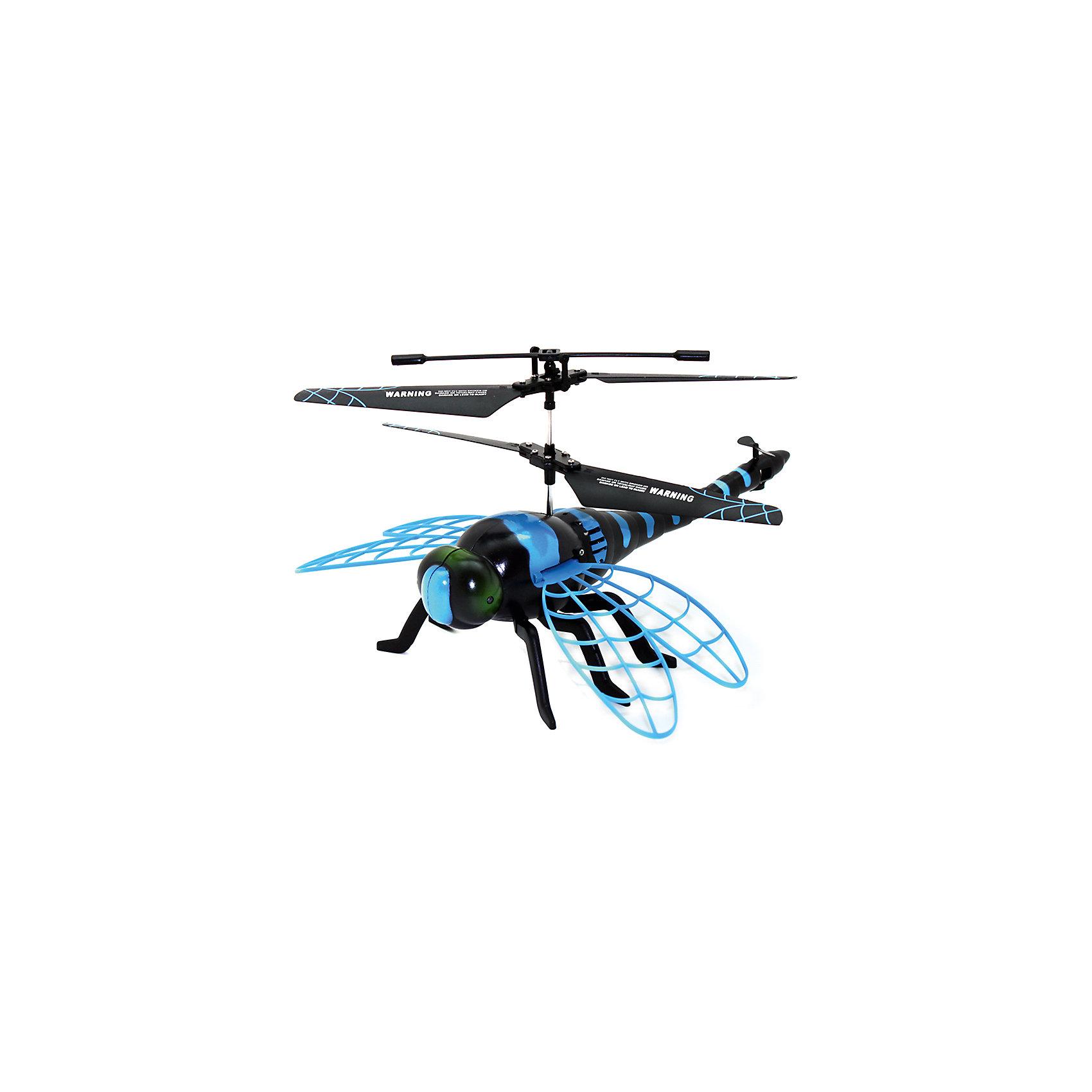 Стрекоза на ИК-управлении, ROYSНеобычная летающая стрекоза с ИК-управлением понравится и детям, и взрослым. С ней вы весело проведете время, наблюдая за ее полетами. Стрекоза интересно двигает крыльями, ее глаза светятся, что не может не порадовать ребенка. Зарядки хватает на 10 минут, игрушка заряжается при помощи USB или пульта дистанционного управления. Радиус полета - 15 метров. Забавная стрекоза - отличное решение для интересного времяпровождения!<br><br>Дополнительная информация:<br>Размер: 23х18х28 см<br>Батарейки: АА - 4 штуки<br>Тип управления: инфракрасное<br>Время зарядки: 25 минут<br>Материал: пластик<br>Стрекозу на ИК-управлении можно приобрести в нашем интернет-магазине.<br><br>Ширина мм: 230<br>Глубина мм: 180<br>Высота мм: 280<br>Вес г: 530<br>Возраст от месяцев: 96<br>Возраст до месяцев: 1188<br>Пол: Унисекс<br>Возраст: Детский<br>SKU: 4944583