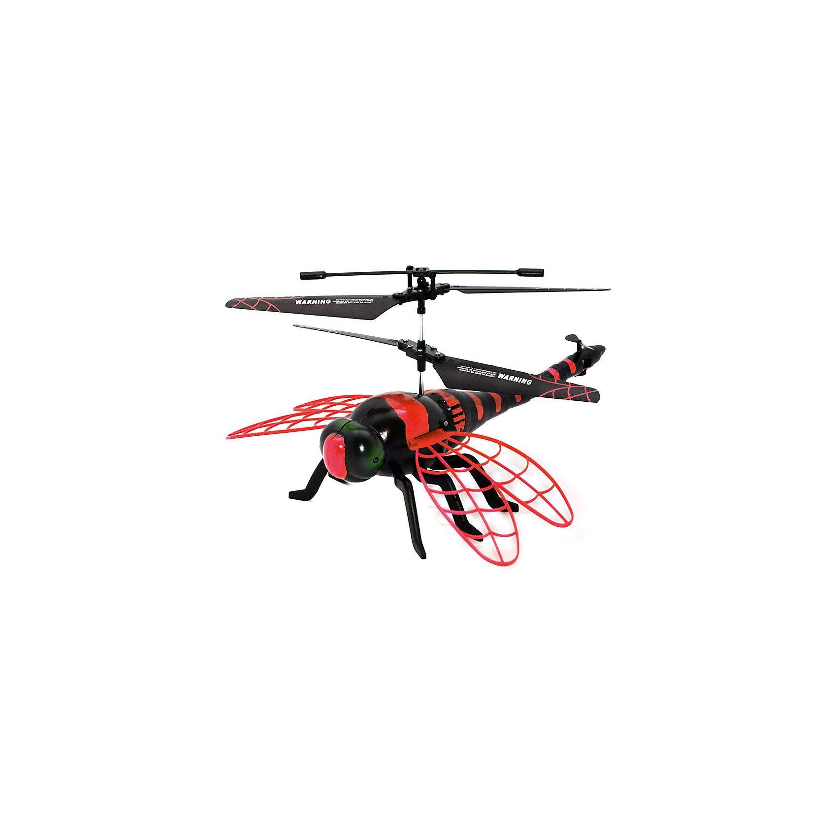 Стрекоза на ИК-управлении, ROYSРадиоуправляемый транспорт<br>Необычная летающая стрекоза с ИК-управлением понравится и детям, и взрослым. С ней вы весело проведете время, наблюдая за ее полетами. Стрекоза интересно двигает крыльями, ее глаза светятся, что не может не порадовать ребенка. Зарядки хватает на 10 минут, игрушка заряжается при помощи USB или пульта дистанционного управления. Радиус полета - 15 метров. Забавная стрекоза - отличное решение для интересного времяпровождения!<br><br>Дополнительная информация:<br>Размер: 23х18х28 см<br>Батарейки: АА - 4 штуки<br>Тип управления: инфракрасное<br>Время зарядки: 25 минут<br>Материал: пластик<br>Стрекозу на ИК-управлении можно приобрести в нашем интернет-магазине.<br><br>Ширина мм: 230<br>Глубина мм: 180<br>Высота мм: 280<br>Вес г: 530<br>Возраст от месяцев: 96<br>Возраст до месяцев: 1188<br>Пол: Унисекс<br>Возраст: Детский<br>SKU: 4944584