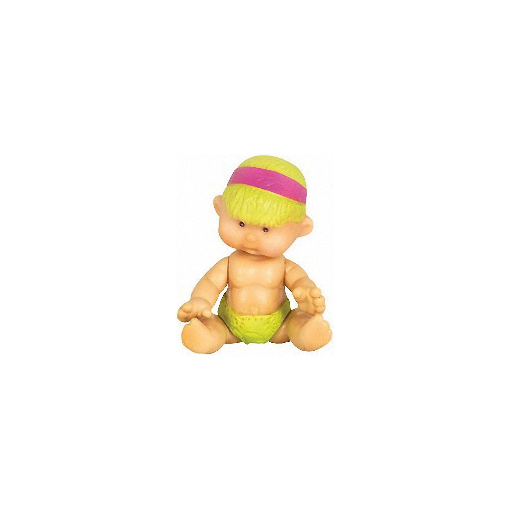 Пупс Нюша Груша, 7см, YogurtinisМини-куклы<br>Милый пупс Нюша Груша не оставит ребенка равнодушным. Ножки и ручки игрушки подвижны. Оригинальное личико, необычное имя и приятный запах фруктового йогурта вызовут море позитивных эмоций у малыша.<br><br>Дополнительная информация:<br>Материал: пластик, ароматизатор<br>Высота пупса: 7 см<br>Пупса Нюша Груша можно приобрести в нашем интернет-магазине.<br><br>Ширина мм: 75<br>Глубина мм: 75<br>Высота мм: 70<br>Вес г: 20<br>Возраст от месяцев: 36<br>Возраст до месяцев: 84<br>Пол: Женский<br>Возраст: Детский<br>SKU: 4944596