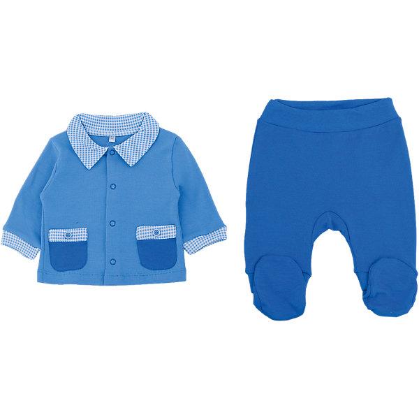 Комплект: ползунки и кофта  для мальчика Soni kids