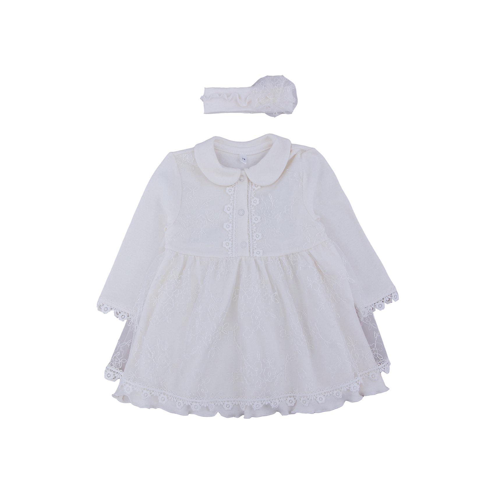 Комплект: платье и позязка на голову  для девочки Soni kidsКомплект: платье и позязка на голову   КОМПЛЕКТЫ НА ВЫПИСКУ  для девочки Soni kids <br>Состав: 100% хлопок<br><br>Ширина мм: 157<br>Глубина мм: 13<br>Высота мм: 119<br>Вес г: 200<br>Цвет: разноцветный<br>Возраст от месяцев: 6<br>Возраст до месяцев: 9<br>Пол: Женский<br>Возраст: Детский<br>Размер: 74<br>SKU: 4944798