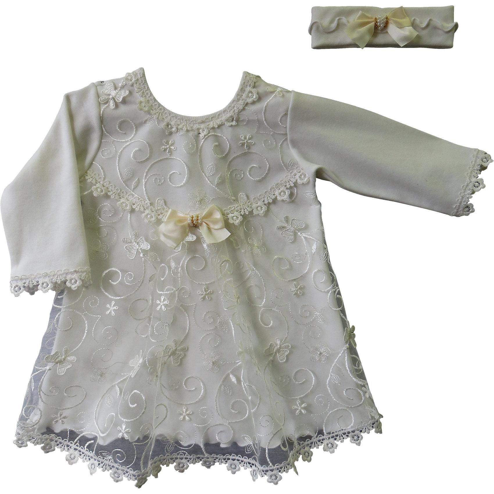 Комплект: платье и позязка на голову  для девочки Soni kidsКомплект: платье и позязка на голову   КОМПЛЕКТЫ НА ВЫПИСКУ  для девочки Soni kids <br>Состав: 100% хлопок<br><br>Ширина мм: 157<br>Глубина мм: 13<br>Высота мм: 119<br>Вес г: 200<br>Цвет: разноцветный<br>Возраст от месяцев: 3<br>Возраст до месяцев: 6<br>Пол: Женский<br>Возраст: Детский<br>Размер: 62,68<br>SKU: 4944809