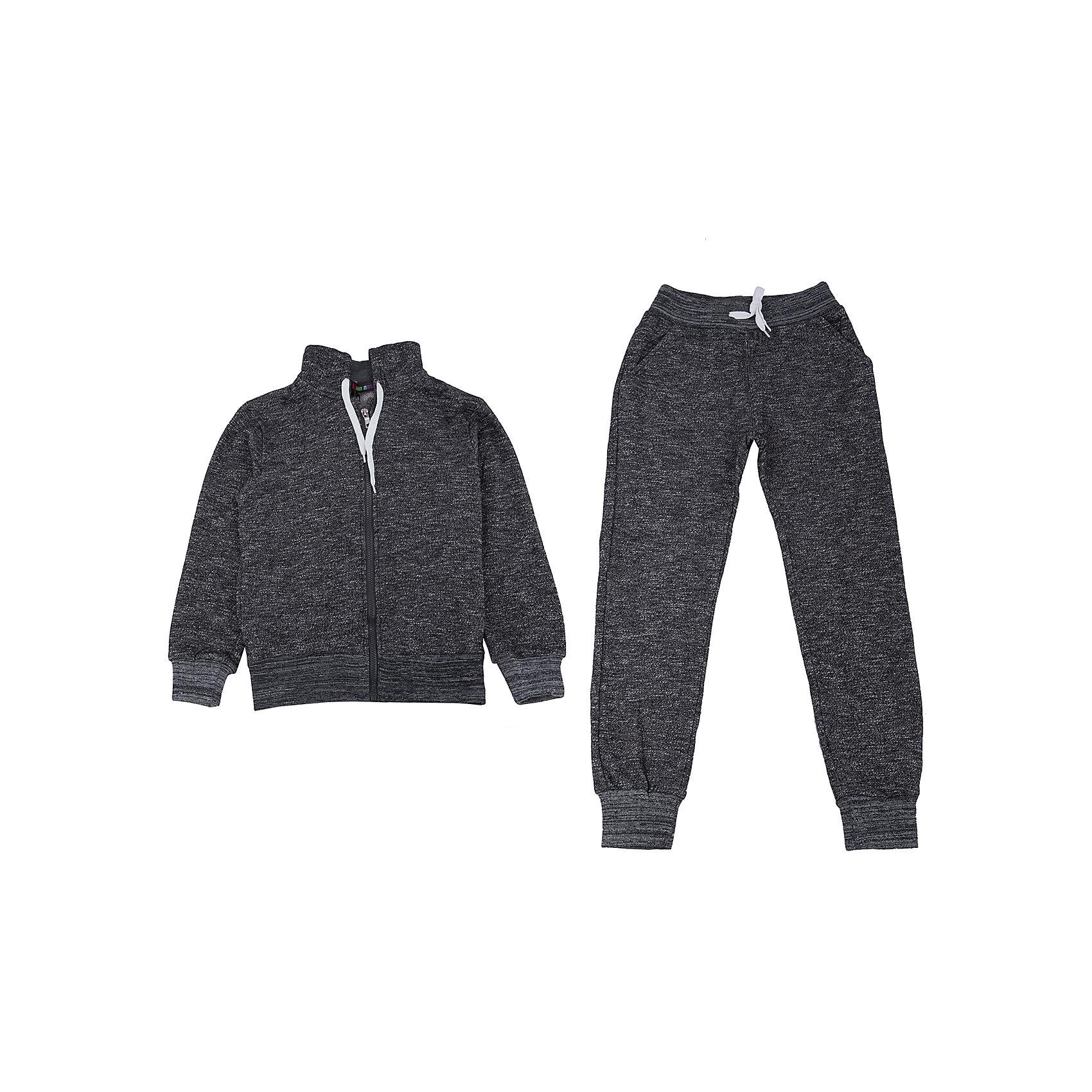 Спортивный костюм для мальчика LuminosoКомплекты<br>Спортивный костюм для мальчика от популярной марки Luminoso.<br>Спортивный костюм для мальчика модного серого меланжа с белыми контрастными шнурками.<br>Состав:<br>80% хлопок, 20% полиэстер<br><br>Ширина мм: 247<br>Глубина мм: 16<br>Высота мм: 140<br>Вес г: 225<br>Цвет: серый<br>Возраст от месяцев: 156<br>Возраст до месяцев: 168<br>Пол: Мужской<br>Возраст: Детский<br>Размер: 164,134,140,146,152,158<br>SKU: 4944881
