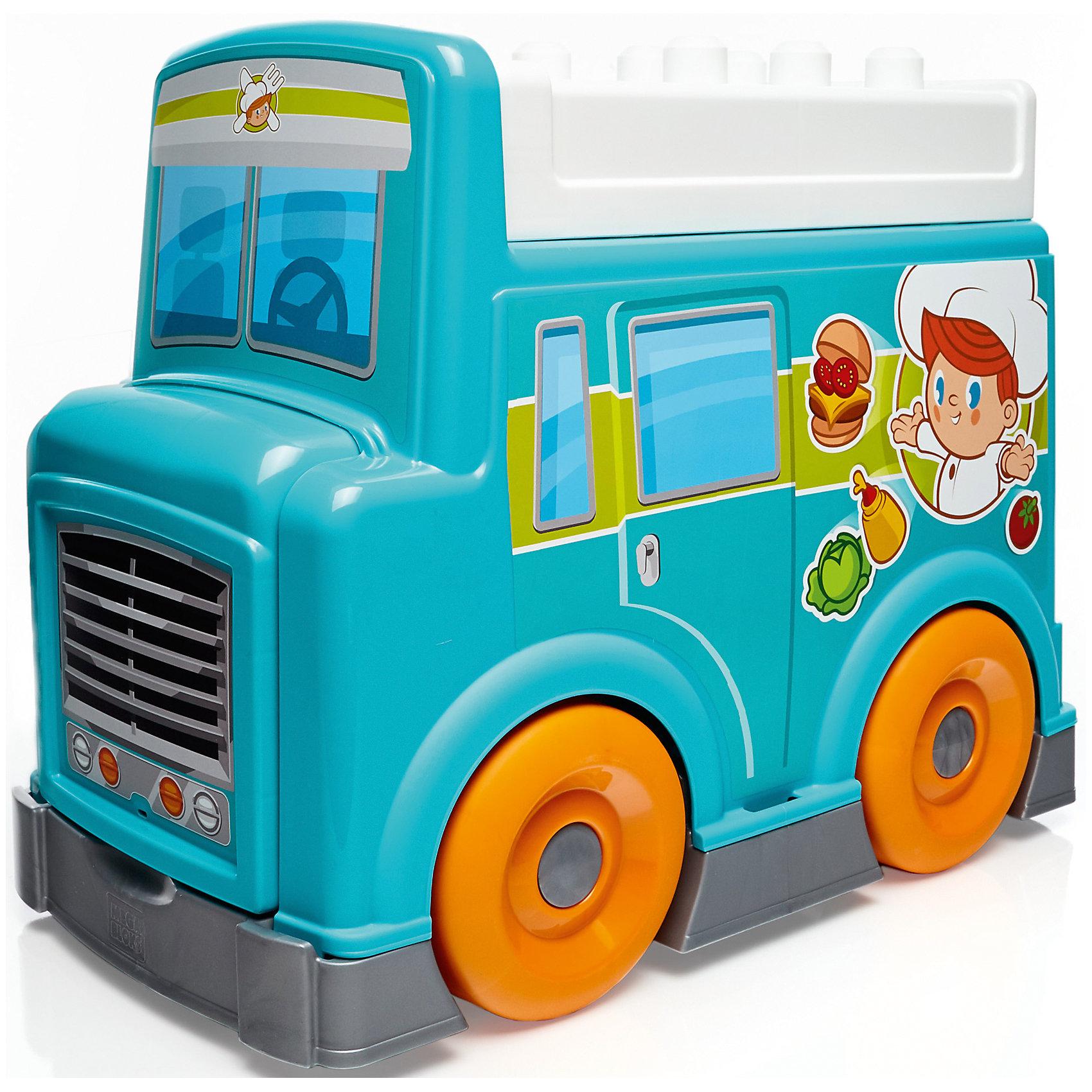 Игровой набор Продуктовый фургон, MEGA BLOKS<br><br>Ширина мм: 365<br>Глубина мм: 255<br>Высота мм: 455<br>Вес г: 3015<br>Возраст от месяцев: 12<br>Возраст до месяцев: 60<br>Пол: Мужской<br>Возраст: Детский<br>SKU: 4947819