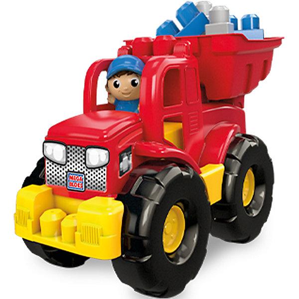 Грузовик - трансформер, MEGA BLOKSПластмассовые конструкторы<br>Характеристики:<br><br>• тип игрушки: игровой набор;<br>• возраст: от 1 года;<br>• количество деталей: 11 шт;<br>• размер: 26х40х35 см;<br>• бренд: Mega Bloks;<br>• материал: пластик;<br>• страна бренда: Канада.<br><br>Грузовик - трансформер, MEGA BLOKS обязательно понравится любому ребенку. С таким набором малыш сможет почувствовать себя настоящим строителем. Скрепляя элементы набора, малыш тренирует пальчики рук, развивает мелкую моторику, фантазию и воображение, совершенствует навыки конструирования. Все элементы набора изготовлены из пластика высокого качества, который безопасен для здоровья ребенка.<br> <br>Грузовик - трансформер, MEGA BLOKS можно купить в нашем интернет-магазине.<br>Ширина мм: 240; Глубина мм: 190; Высота мм: 345; Вес г: 812; Возраст от месяцев: 12; Возраст до месяцев: 60; Пол: Мужской; Возраст: Детский; SKU: 4947821;