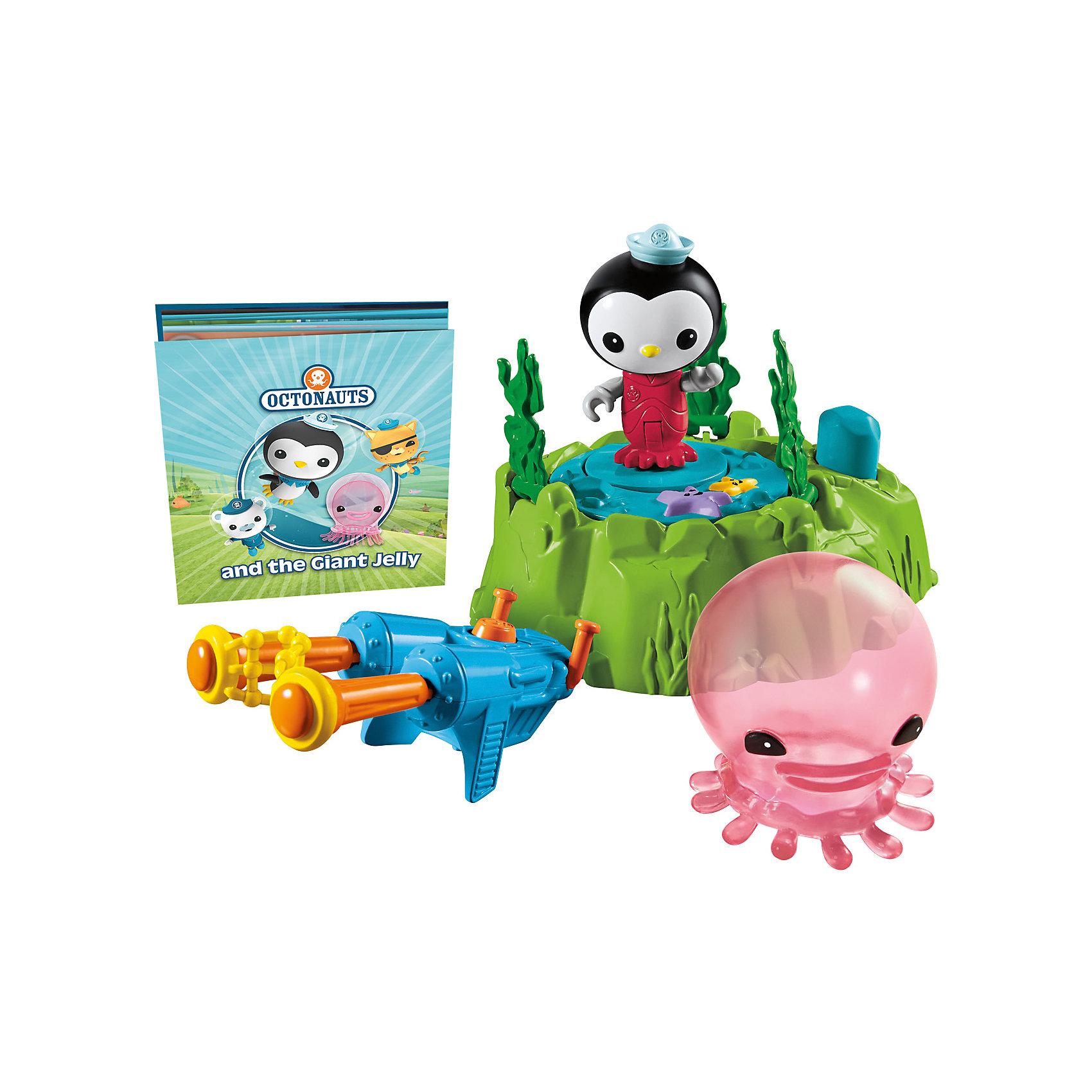 Mattel Набор фигурок с транспортом, Октонавты, Fisher Price