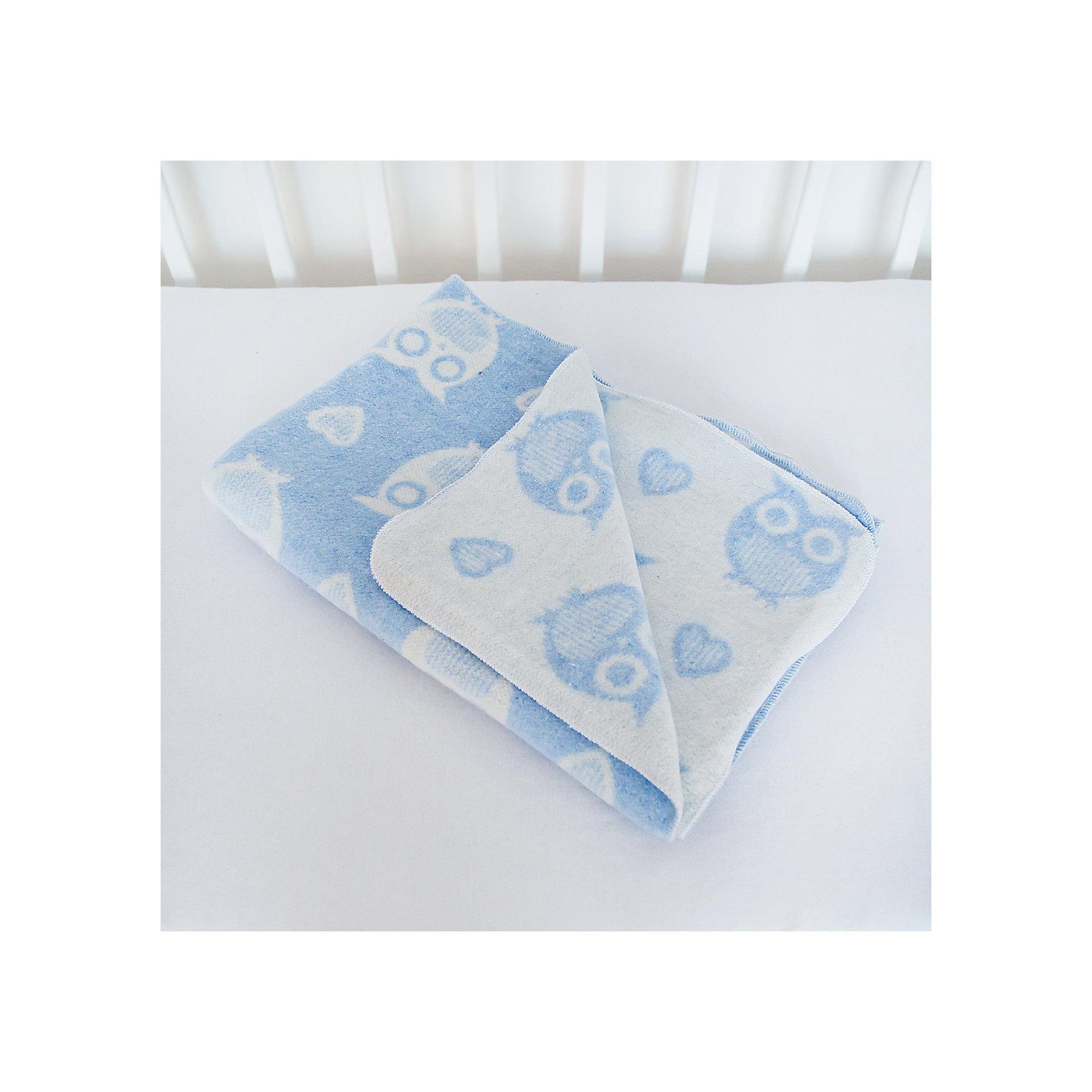 Одеяло байковое Совы 85х115, Baby Nice, голубойОдеяла, пледы<br>Малыши требуют особого ухода. Предметы, находящиеся в детской кроватке, должны быть качественными и безопасными. Это одеяло разработано специально для малышей, оно обеспечивает комфорт на всю ночь. Одеяло украшено симпатичным принтом.<br>Одеяло сшито из натурального дышащего хлопка, приятного на ощупь. Он не вызывает аллергии, что особенно важно для малышей. Оно обеспечит хорошую терморегуляцию, а значит - крепкий сон. Одеяло сделано из высококачественных материалов, безопасных для ребенка.<br><br>Дополнительная информация:<br><br>цвет: голубой;<br>материал: хлопок, жаккард;<br>принт;<br>размер: 85 х 115 см.<br><br>Одеяло байковое Совы 85х115 от компании Baby Nice можно купить в нашем магазине.<br><br>Ширина мм: 230<br>Глубина мм: 250<br>Высота мм: 40<br>Вес г: 500<br>Возраст от месяцев: 0<br>Возраст до месяцев: 36<br>Пол: Унисекс<br>Возраст: Детский<br>SKU: 4948429