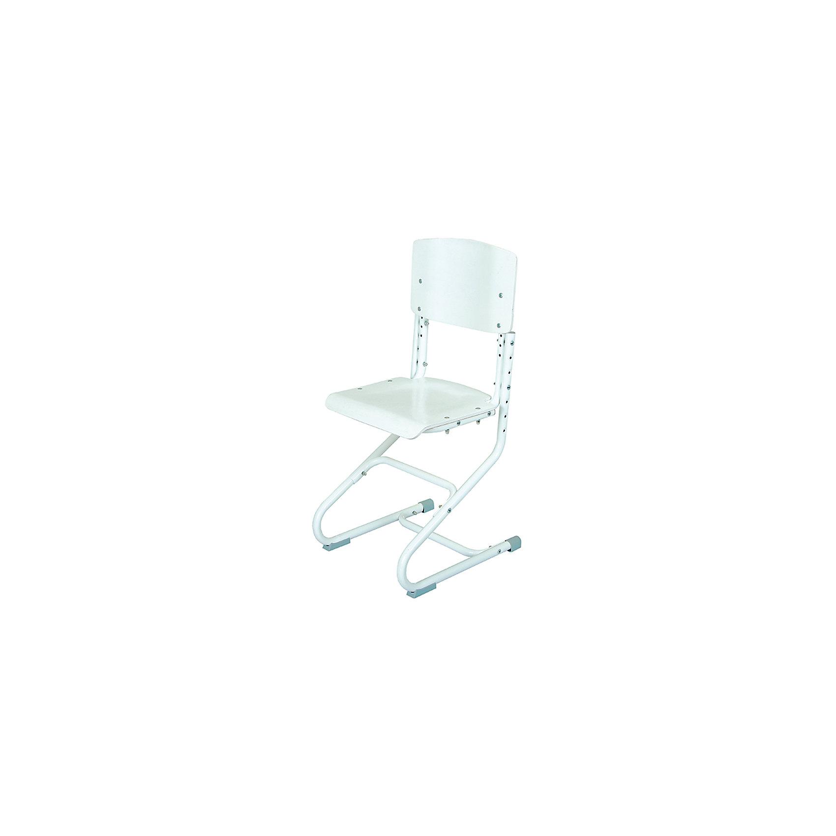 Стул универсальный СУТ.01-01, Дэми, белыйМебель<br>Стул универсальный СУТ.01-01, Дэми, белый – эргономичный стул для детей от 3 лет.<br>Высота ножек, положение сидения, наклон спинки регулируются, поэтому стул будет «расти» вместе с ребенком. Модель выполнена из прочного металла и фанеры, поэтому служить такой стул будет долгие годы. Регулируемая спинка также дополнительно помогает ребенку в поддержании красивой и здоровой осанки. Стул не теряет внешний вид спустя время и не требует особо ухода. <br><br>Дополнительная информация: <br><br>Высота сидения стула - 34,5-44,5 см<br>Глубина сидения стула - 31-34,5 см<br>Ширина сидения стула - 40 см <br>Вес: 7 кг<br>Материал: фанера, металл<br>Цвет: белый<br><br>Стул универсальный СУТ.01-01, Дэми, белый можно купить в нашем интернет магазине.<br><br>Ширина мм: 830<br>Глубина мм: 680<br>Высота мм: 133<br>Вес г: 2700<br>Возраст от месяцев: 48<br>Возраст до месяцев: 216<br>Пол: Унисекс<br>Возраст: Детский<br>SKU: 4950275