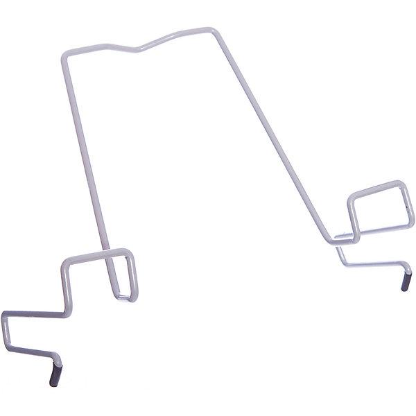 Подставка для книг металлическая ПДК.02, Дэми, серыйАксессуары для парт<br>Для детского организма, который постоянно растет и изменяется, крайне важно читать в правильном положении под правильным углом. Это поможет формированию здорового тела ребенка и комфорту при обучении.<br>Подставка для книг от компании Дэми легко крепится к партам от этого производителя. Она тщательно разработана специалиста с учетом особенностей детского организма. Благодаря ей можно избежать сколиоза и падения зрения, а также снизить утомляемость и разгрузить мышцы шеи и спины.<br><br>Дополнительная информация:<br><br>цвет: серый;<br>материал: металл;<br>размер: 33 х 20 x 5 см.<br><br>Подставку для книг от компании Дэми можно купить в нашем магазине.<br><br>Ширина мм: 500<br>Глубина мм: 390<br>Высота мм: 30<br>Вес г: 100<br>Возраст от месяцев: 48<br>Возраст до месяцев: 216<br>Пол: Унисекс<br>Возраст: Детский<br>SKU: 4950284