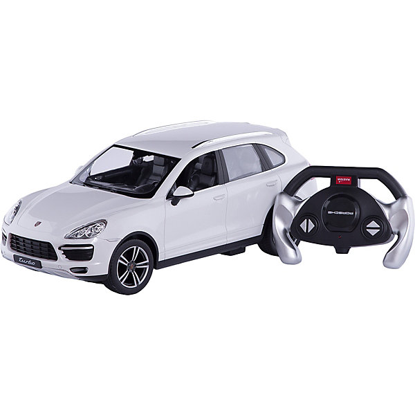 Машина porsche cayenne turbo, 1:14, со светом, RASTAR , в ассортиментеРадиоуправляемые машины<br><br>Ширина мм: 230; Глубина мм: 200; Высота мм: 430; Вес г: 1620; Возраст от месяцев: 72; Возраст до месяцев: 180; Пол: Мужской; Возраст: Детский; SKU: 4950402;