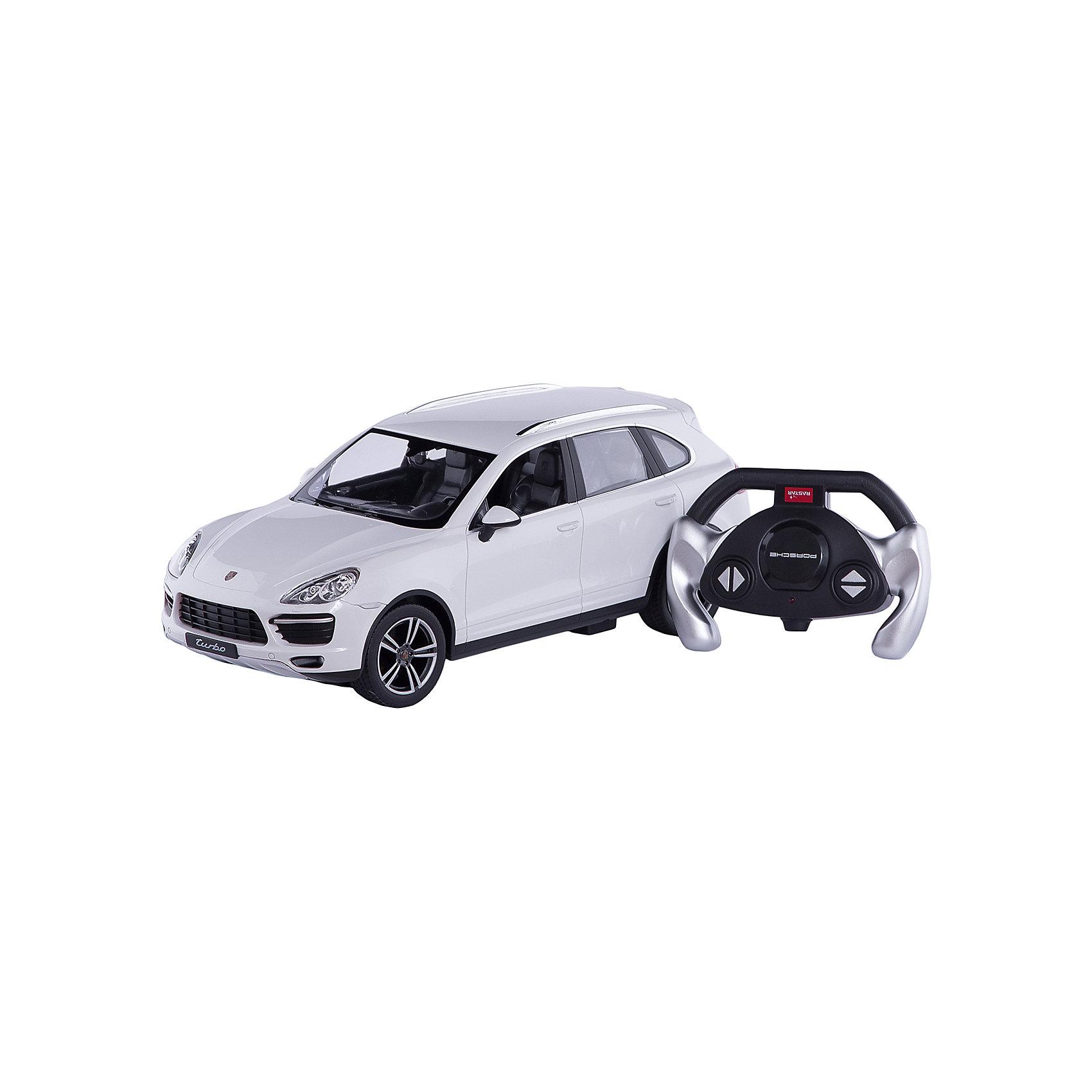 - Машина porsche cayenne turbo, 1:14, со светом, RASTAR , в ассортименте rastar rastar радиоуправляемый автомобиль porsche cayenne turbo масштаб 1 14 в ассортименте