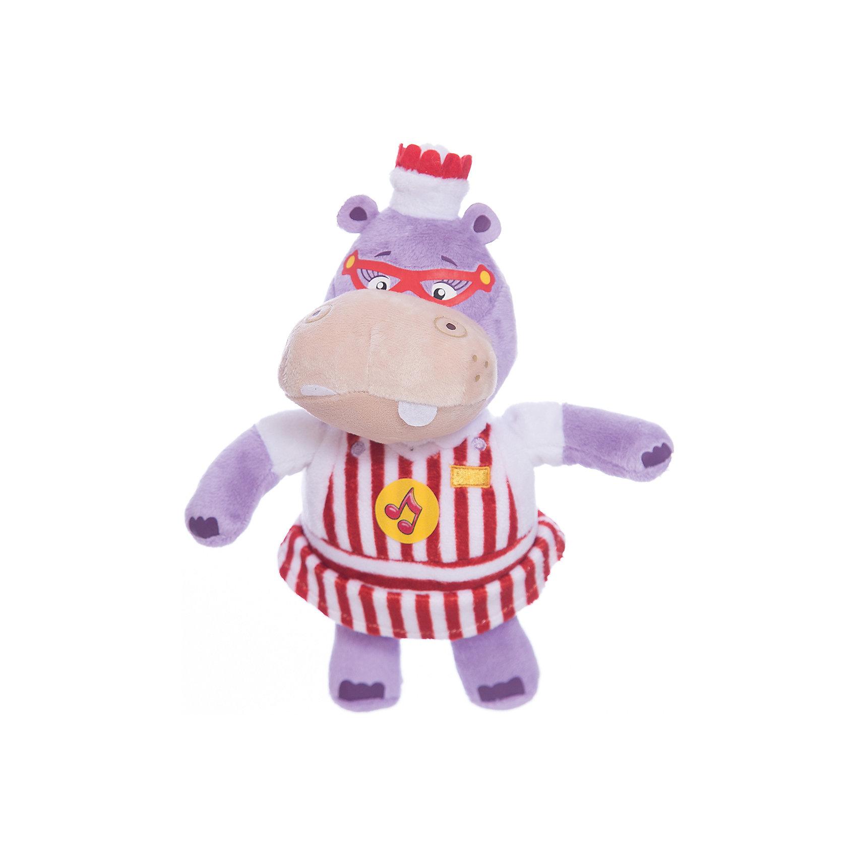 Мягкая игрушка Хейли,со звуком, 18 см, МУЛЬТИ-ПУЛЬТИМягкие игрушки животные<br>Мягкая игрушка Хейли,со звуком, 18 см, Мульти-Пульти.<br><br>Характеристика:<br><br>• Материал: текстиль, плюш, пластик.    <br>• Высота игрушки: 18 см.<br>• Звуковые эффекты. <br>• Мягкая, приятная на ощупь.<br><br>Дети обожают мягкие игрушки, ведь с ними так приятно играть днем и уютно и спокойно засыпать ночью! Очаровательная Хейли, героиня мультсериала Доктор плюшева, обязательно понравится ребятам, ведь она такая мягкая и приятная на ощупь! В производстве игрушки использованы только экологичные гипоаллергенные материалы безопасные даже для малышей.<br><br>Мягкую игрушку Хейли,со звуком, 18 см, Мульти-Пульти, можно купить в нашем магазине.<br><br>Ширина мм: 100<br>Глубина мм: 230<br>Высота мм: 190<br>Вес г: 100<br>Возраст от месяцев: 12<br>Возраст до месяцев: 60<br>Пол: Унисекс<br>Возраст: Детский<br>SKU: 4950415