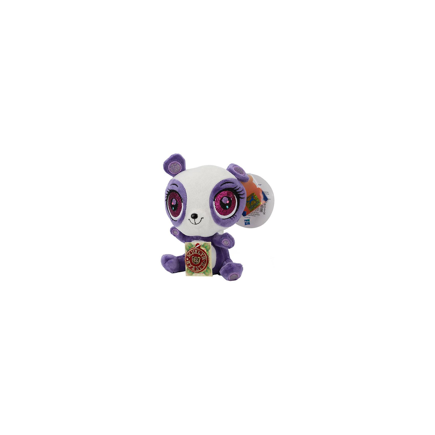 МУЛЬТИ-ПУЛЬТИ Мягкая игрушка Панда, Littlest Pet Shop, МУЛЬТИ-ПУЛЬТИ мульти пульти мягкая игрушка серый мышонок 23 см со звуком кот леопольд мульти пульти