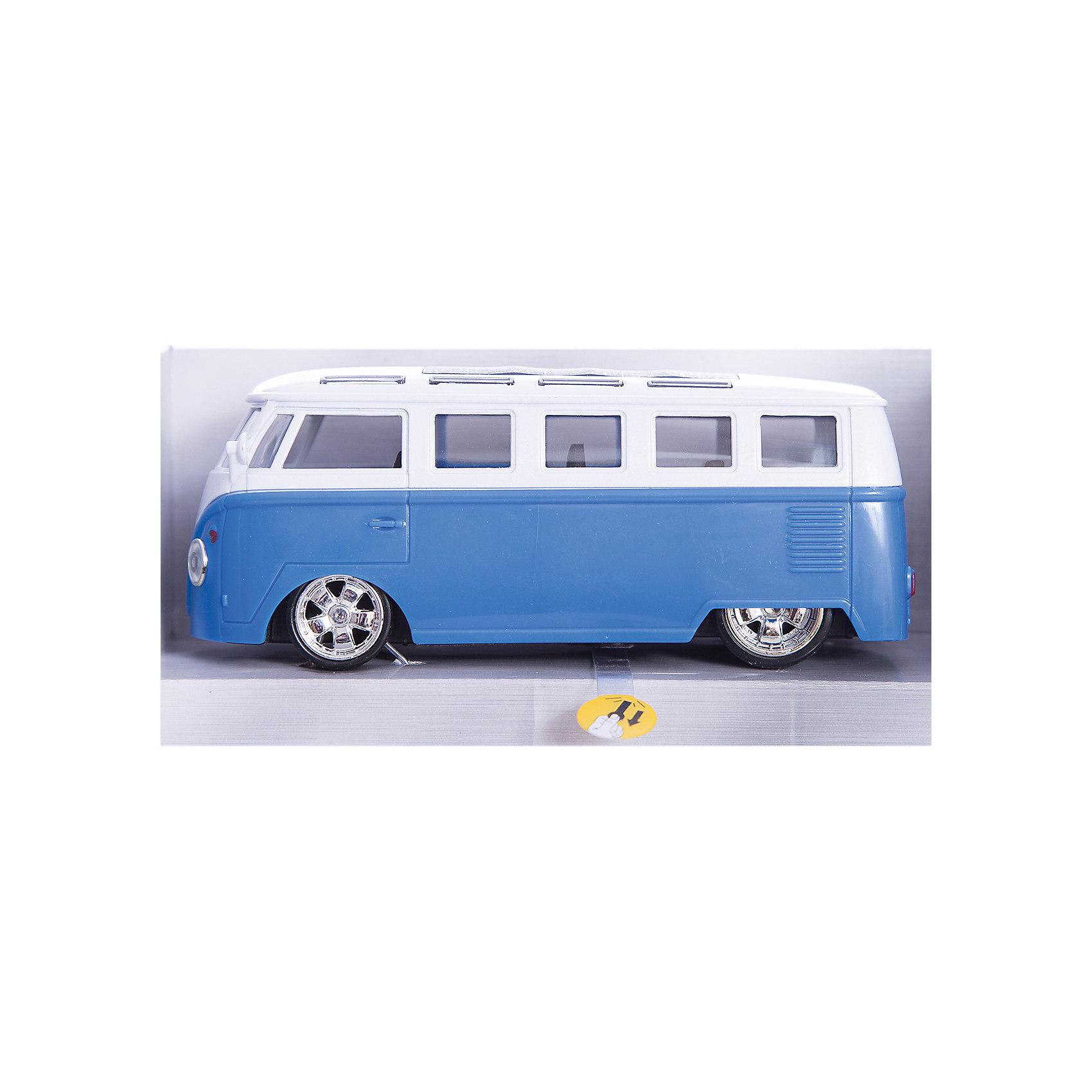 Автобус , 12,5см, свет+звук, ТЕХНОПАРК