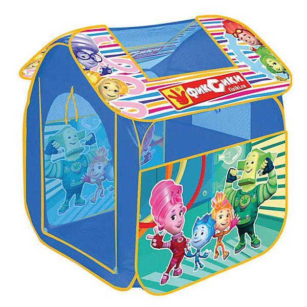 Детская игровая палатка, Фиксики, Играем вместеИгровые центры<br><br><br>Ширина мм: 800<br>Глубина мм: 830<br>Высота мм: 1050<br>Вес г: 750<br>Возраст от месяцев: 12<br>Возраст до месяцев: 5<br>Пол: Унисекс<br>Возраст: Детский<br>SKU: 4950445