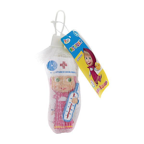 Фигурка для ванной Маша доктор, Маша и медведь, Играем вместеИгрушки для ванной<br>Фигурка для ванной Маша доктор, Маша и медведь, Играем вместе<br><br>Характеристики:<br><br>• Материал: ПВХ.<br>• Размер: 4х10х5см.<br><br>Отличная игрушка из мягкого ПВХ надолго займет внимание вашего малыша. Эта игрушка поможет малышу при прорезывании зубов, поможет развивать моторику рук, знакомить с формой, цветом, образами также с ней можно забавно поиграть в ванной. Яркий образ любимой героини поможет ребенку придумывать различные сюжетно-ролевые игры.<br><br>Фигурку для ванной Маша доктор, Маша и медведь, Играем вместе, можно купить в нашем интернет – магазине.<br><br>Ширина мм: 40<br>Глубина мм: 100<br>Высота мм: 50<br>Вес г: 40<br>Возраст от месяцев: 6<br>Возраст до месяцев: 3<br>Пол: Унисекс<br>Возраст: Детский<br>SKU: 4950489