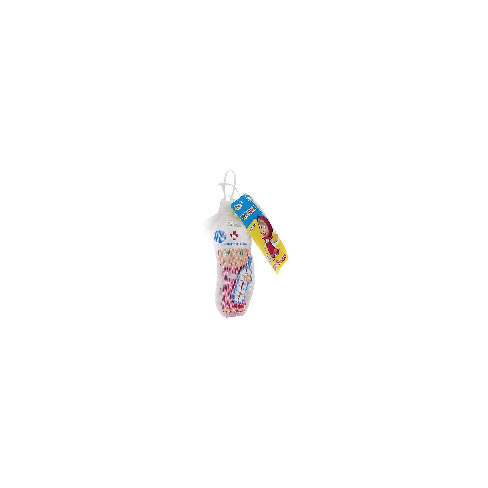 Фигурка для ванной Маша доктор, Маша и медведь, Играем вместеФигурка для ванной Маша доктор, Маша и медведь, Играем вместе<br><br>Характеристики:<br><br>• Материал: ПВХ.<br>• Размер: 4х10х5см.<br><br>Отличная игрушка из мягкого ПВХ надолго займет внимание вашего малыша. Эта игрушка поможет малышу при прорезывании зубов, поможет развивать моторику рук, знакомить с формой, цветом, образами также с ней можно забавно поиграть в ванной. Яркий образ любимой героини поможет ребенку придумывать различные сюжетно-ролевые игры.<br><br>Фигурку для ванной Маша доктор, Маша и медведь, Играем вместе, можно купить в нашем интернет – магазине.<br><br>Ширина мм: 40<br>Глубина мм: 100<br>Высота мм: 50<br>Вес г: 40<br>Возраст от месяцев: 6<br>Возраст до месяцев: 3<br>Пол: Унисекс<br>Возраст: Детский<br>SKU: 4950489