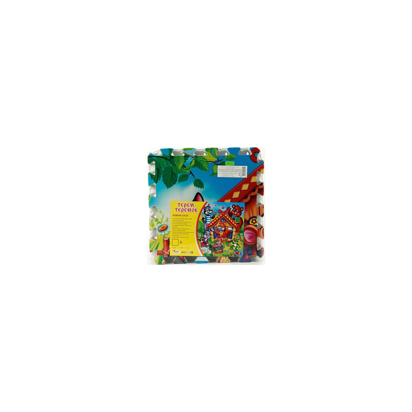 Коврик-пазл Теремок, 8 сегментов, каждый 31.5*31.5см, Играем вместеРазвивающие коврики<br><br><br>Ширина мм: 80<br>Глубина мм: 320<br>Высота мм: 320<br>Вес г: 580<br>Возраст от месяцев: 36<br>Возраст до месяцев: 60<br>Пол: Унисекс<br>Возраст: Детский<br>SKU: 4950492
