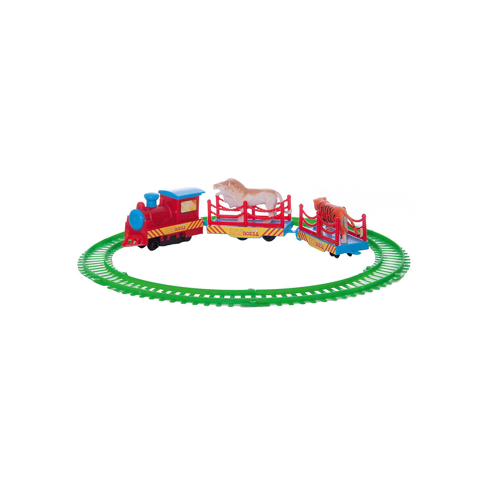 Железная дорога , 22,5*21*3,5см, Играем вместе
