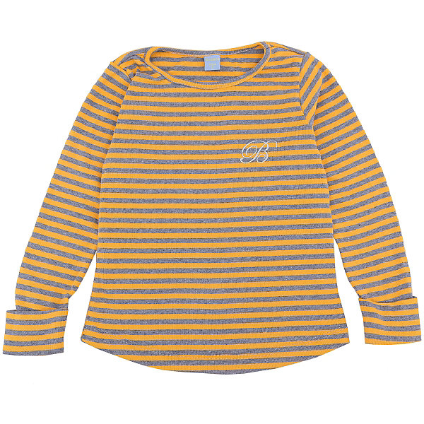 Футболка с длинным рукавом для девочки DAUBERФутболки с длинным рукавом<br>Характеристики:<br><br>• Состав: 100%хлопок.<br>• Цвет: желтый в серо-голубую полоску.<br>• Материал: трикотаж.<br><br>Футболка для девочки от российского бренда DAUBER.<br>Модный джемпер желтого цвета в серо-голубую полоску выполнен из хлопкового трикотажа. Модный принт под «тельняшку» не оставит равнодушной вашу малышку. Натуральный хлопок в составе изделия делает его дышащим, приятным на ощупь и гипоаллергенным. Мягкая обтачка на горловине не вызовет трудностей при надевании. В таком джемпере ваша девочка будет чувствовать себя комфортно и уютно как дома, так и на улице.<br><br>Джемпер для девочки DAUBER, можно купить в нашем интернет - магазине.<br><br>Ширина мм: 190<br>Глубина мм: 74<br>Высота мм: 229<br>Вес г: 236<br>Цвет: желтый<br>Возраст от месяцев: 72<br>Возраст до месяцев: 84<br>Пол: Женский<br>Возраст: Детский<br>Размер: 122,104,98,116,110<br>SKU: 4953410